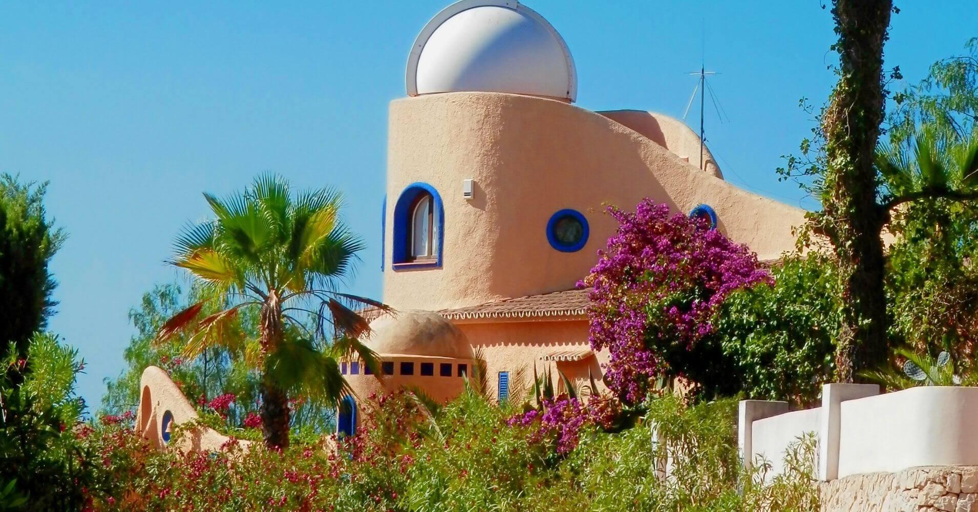 Observatorio de Cap Blac. Cap d' Or, Moraira. Alicante. Comunidad Valenciana.
