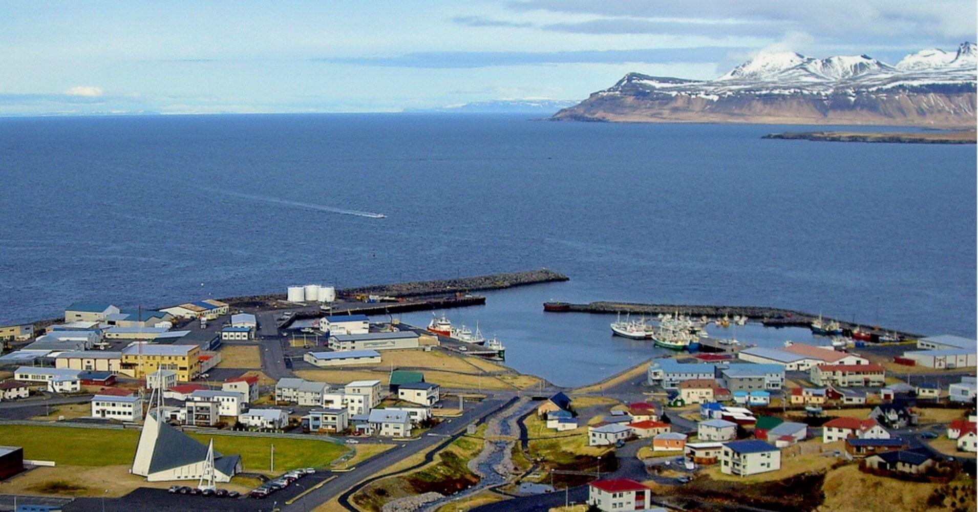 Olafsvik. Vesturland, Islandia.