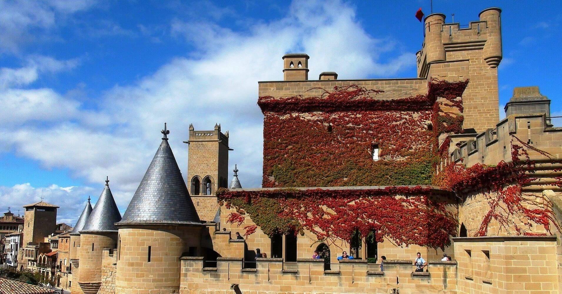 Olite, Navarra.