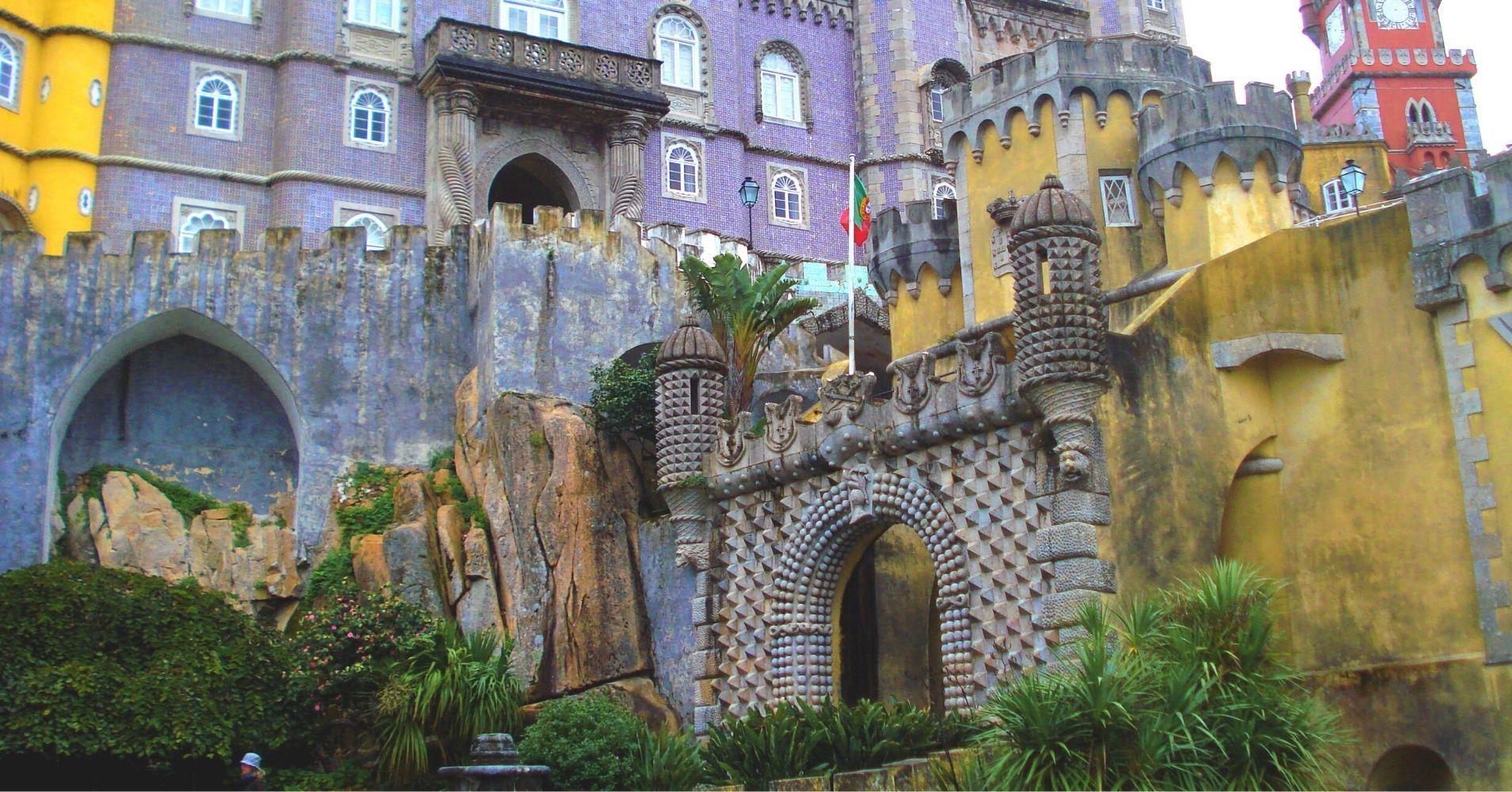 Palacio da Pena. Sintra en Portugal.