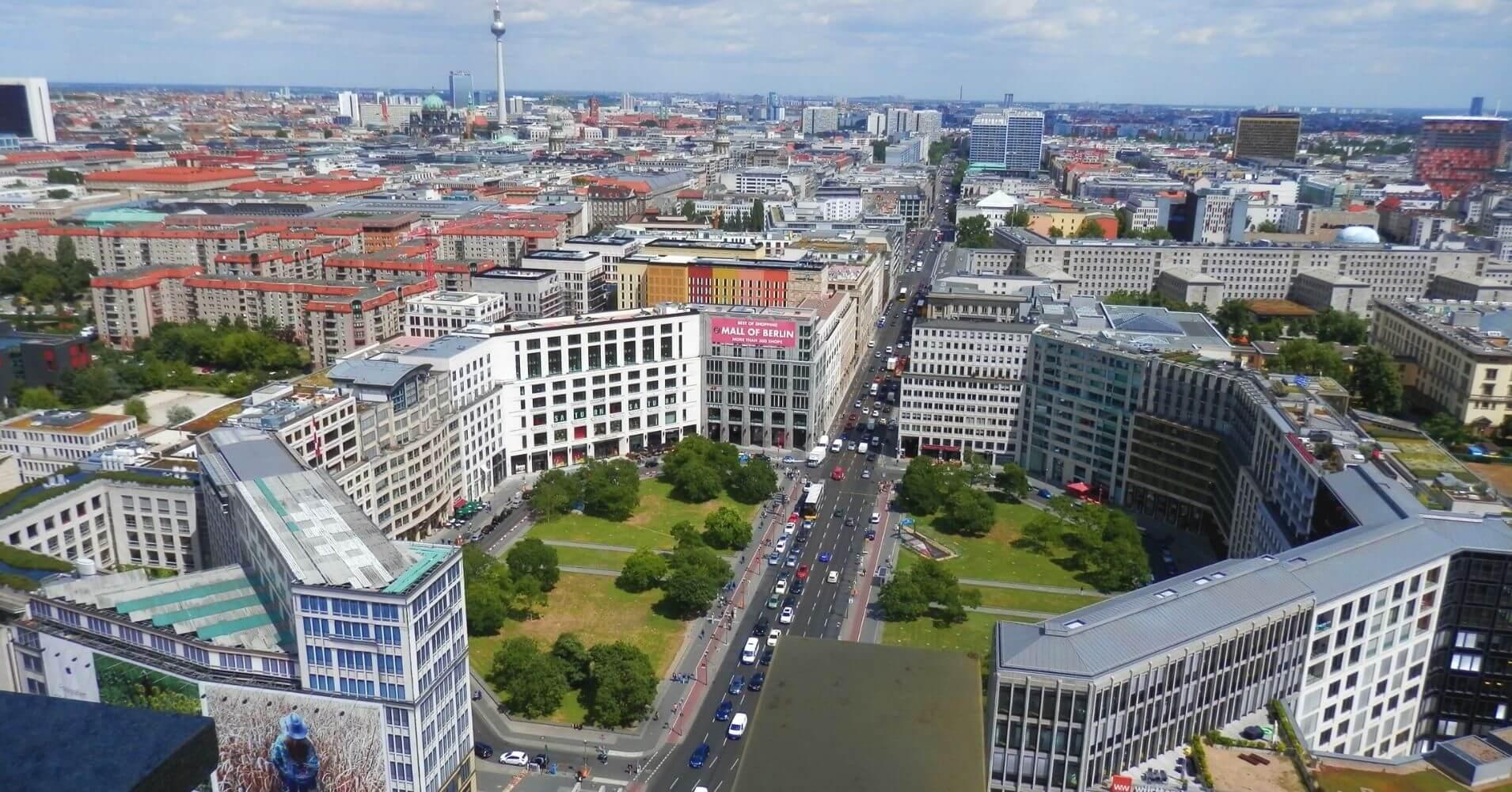 Panorámica Berlinesa, Berlín Cicatrices del Telón de Acero. Alemania.