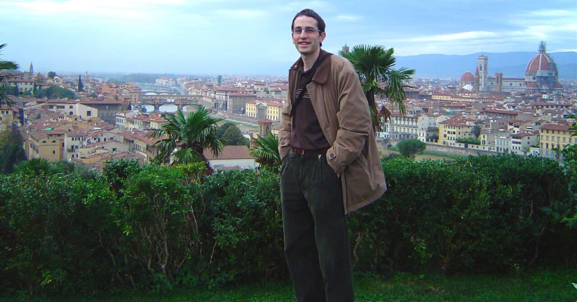 Panorámica de Florencia desde Parque San Michelangelo. Toscana, Italia.