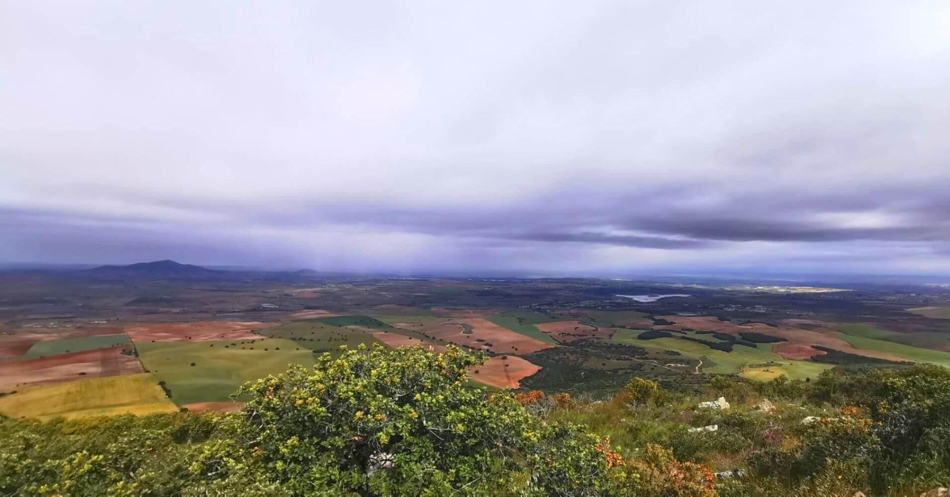 Panorámicas desde la cumbre de La Sierra de Layos. Toledo, Castilla La Mancha.