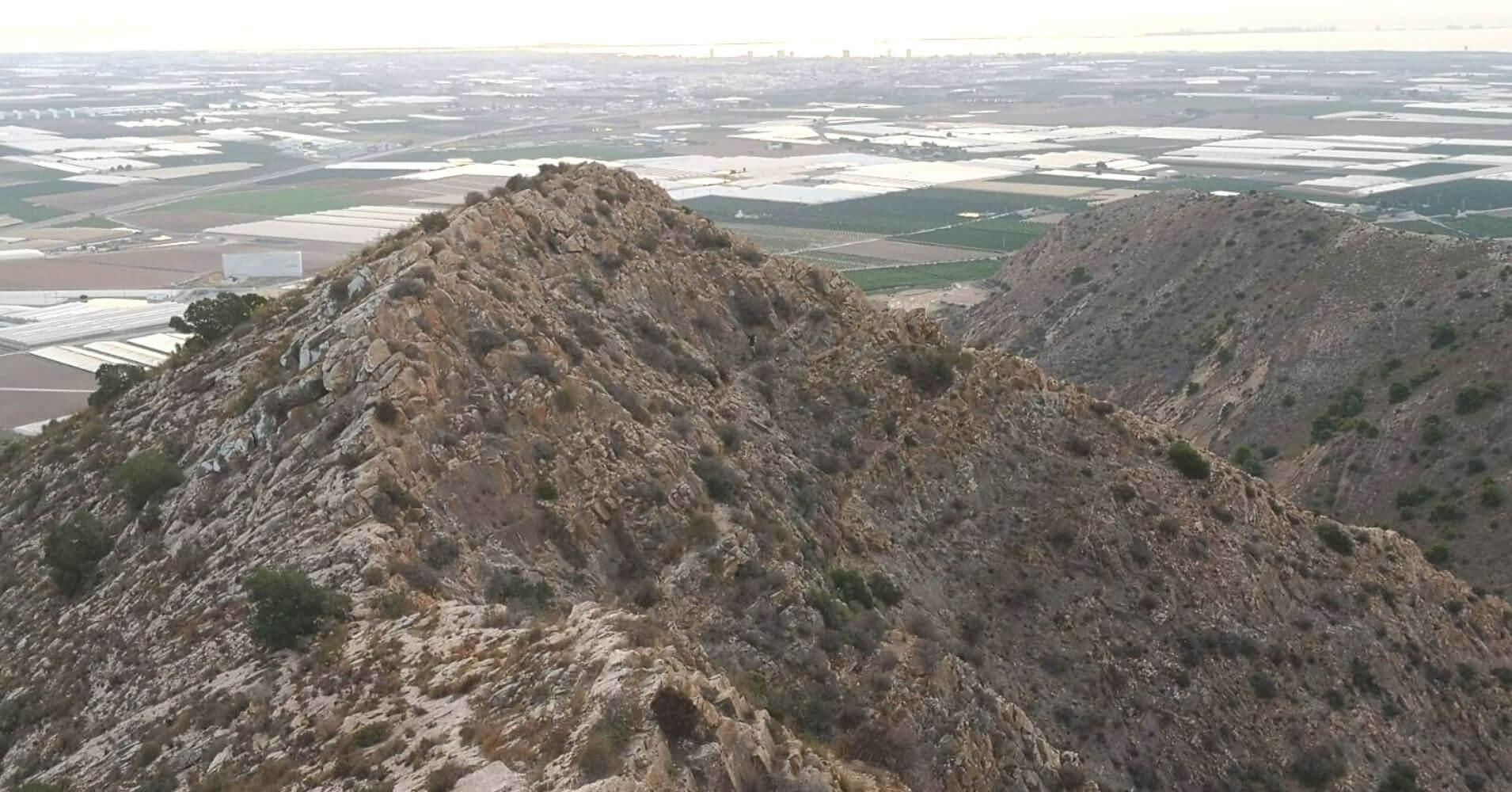 Panorámicas desde la Cumbre del Cabezo Gordo. Torre Pacheco, Murcia.