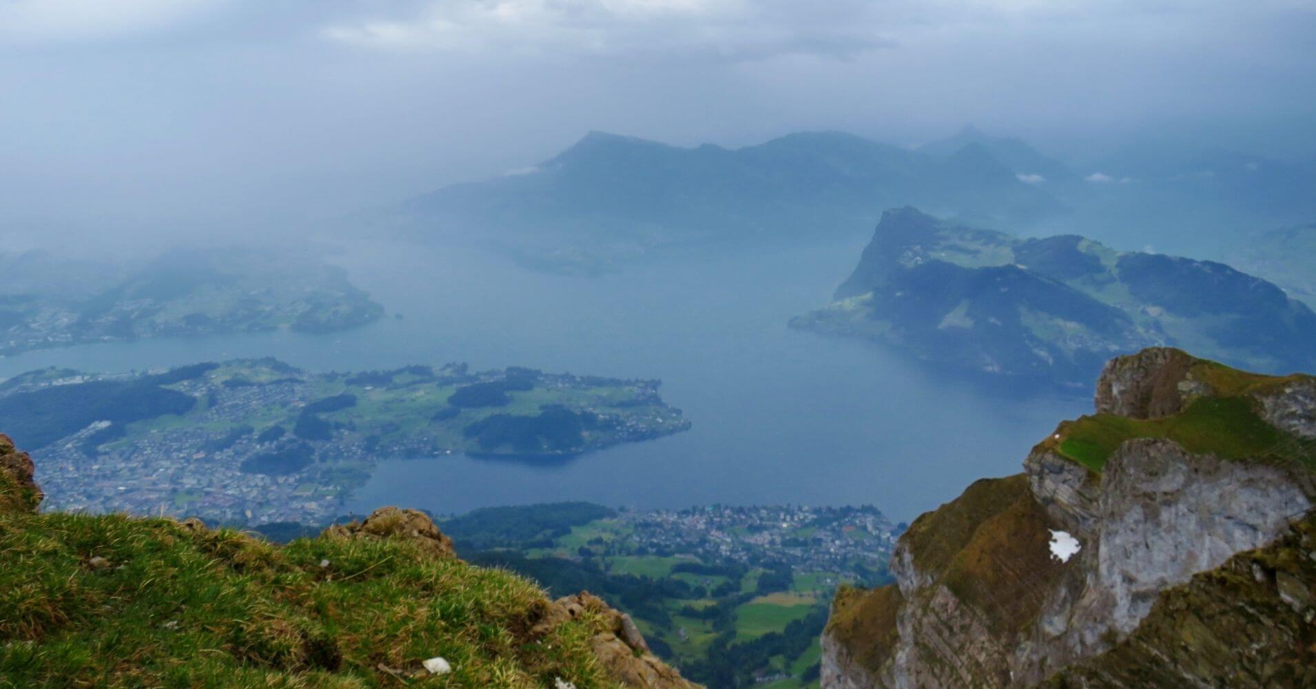 Panorámicas desde la Cumbre. Lucerna, Suiza.