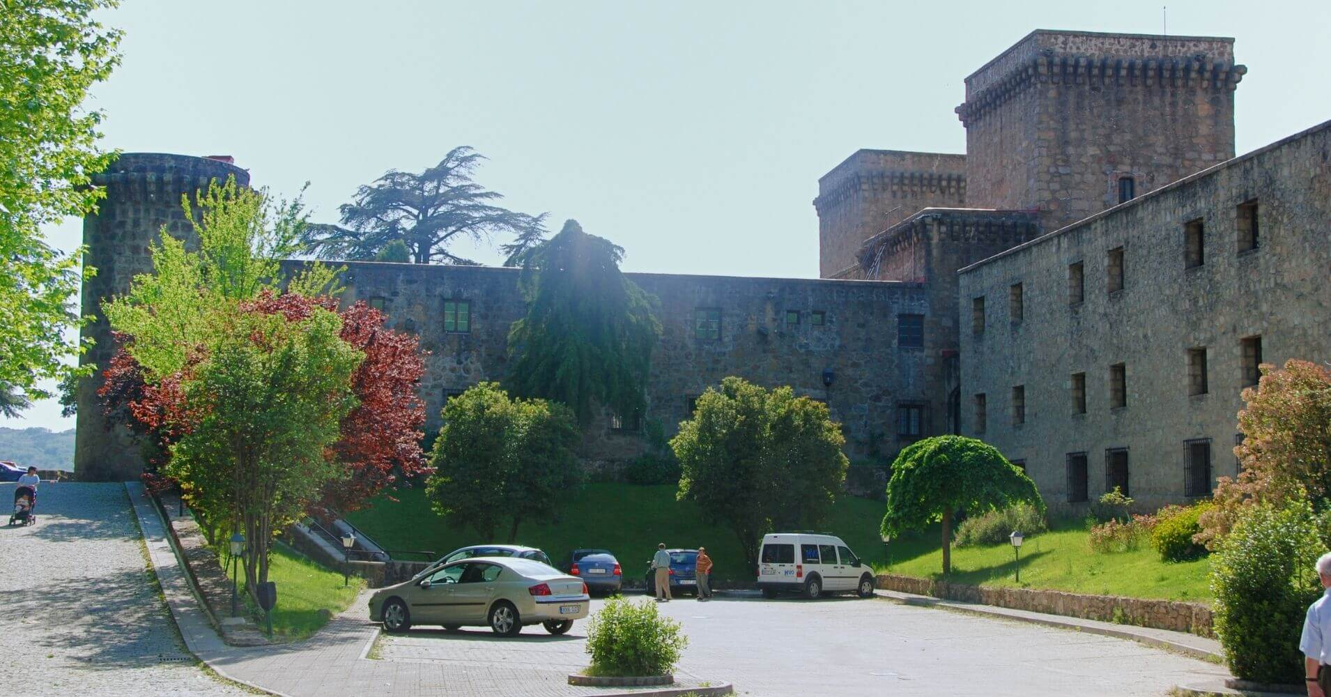 Parador de Jarandilla de La Vera. Cáceres. Extremadura.
