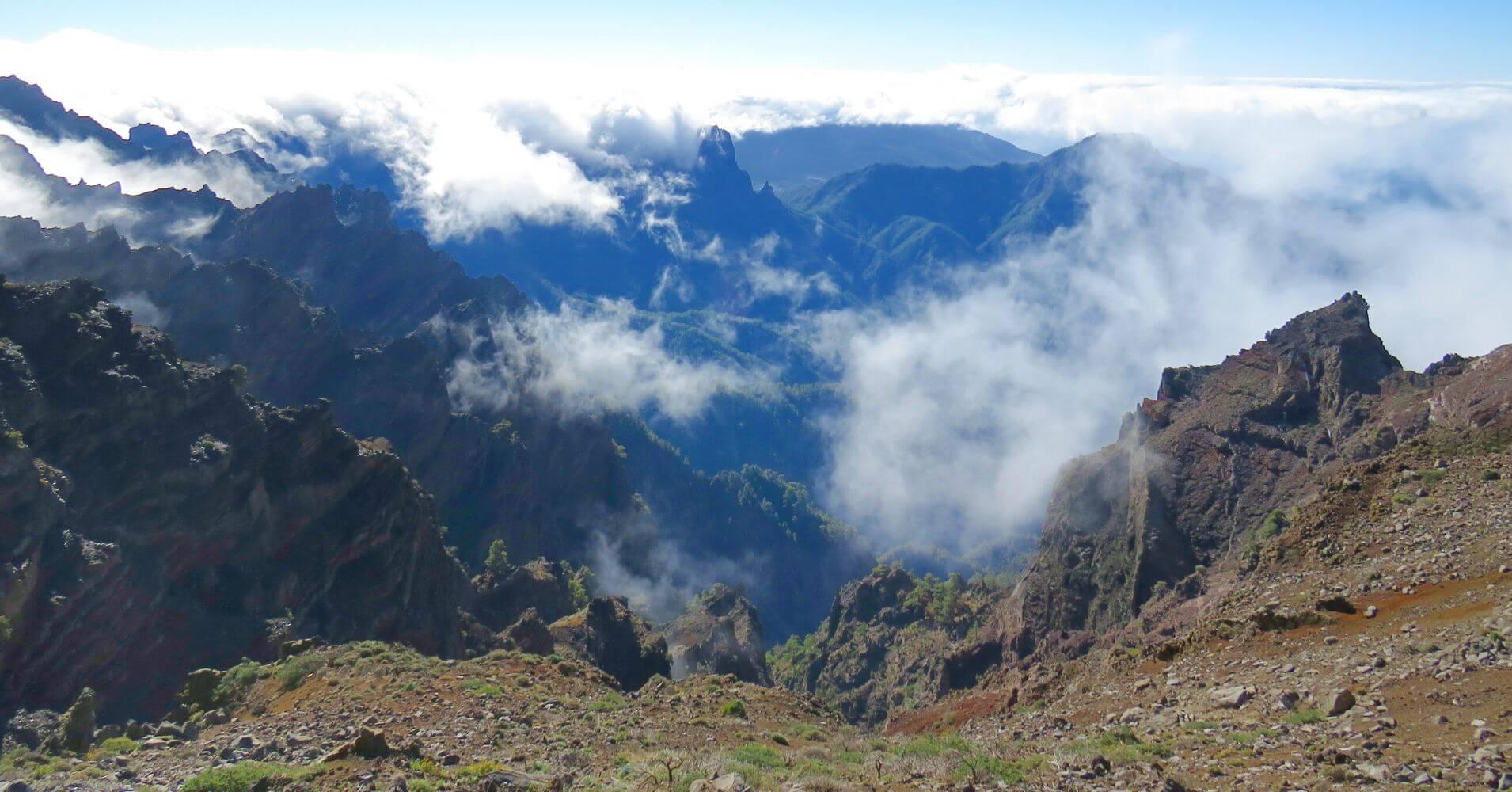 Parque Nacional de la Caldera de Taburiente. La Palma. Islas Canarias.
