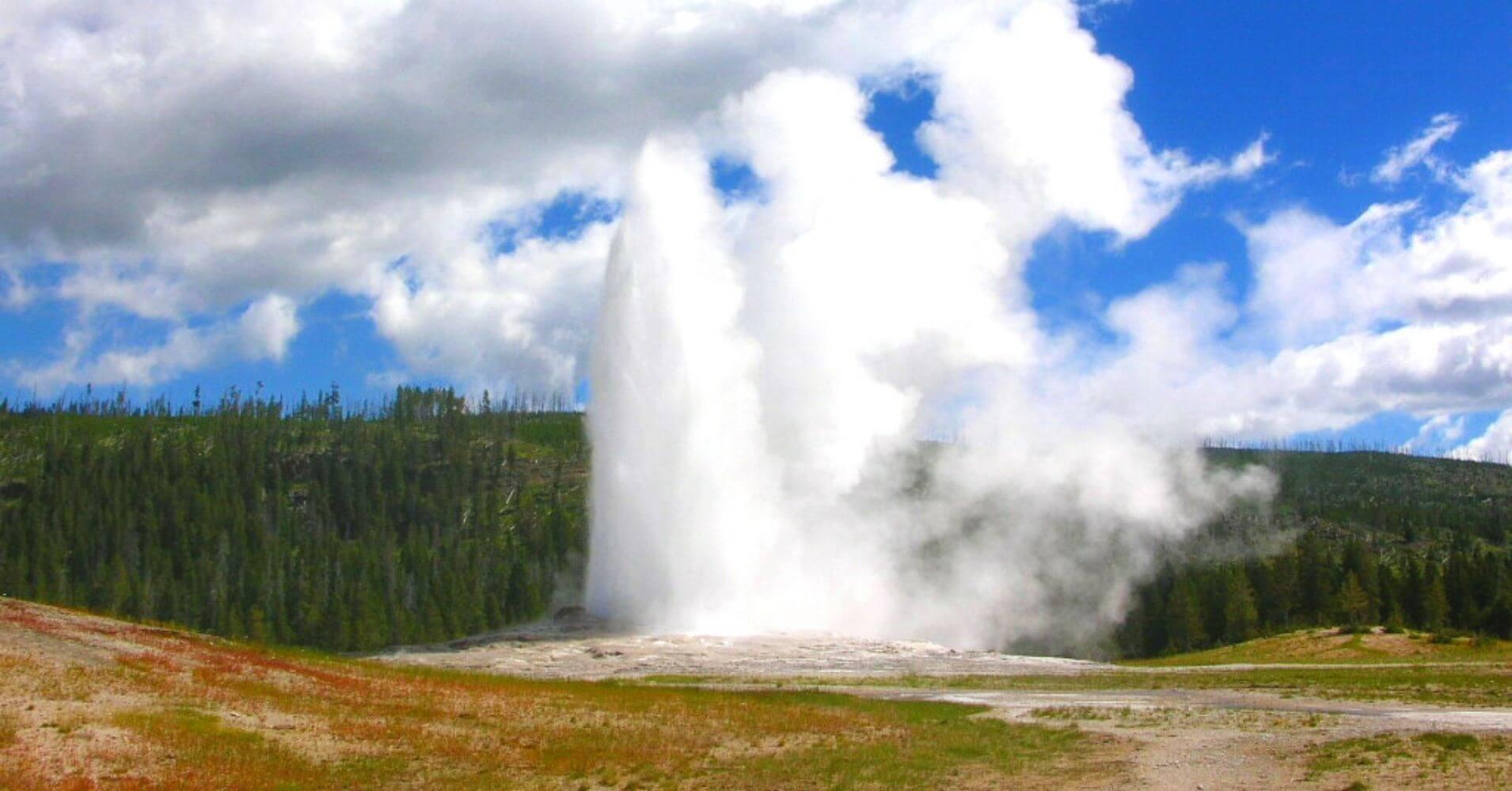 Parque Nacional de Yellowstone. Upper Geyser Basin. Wyoming, Estados Unidos.