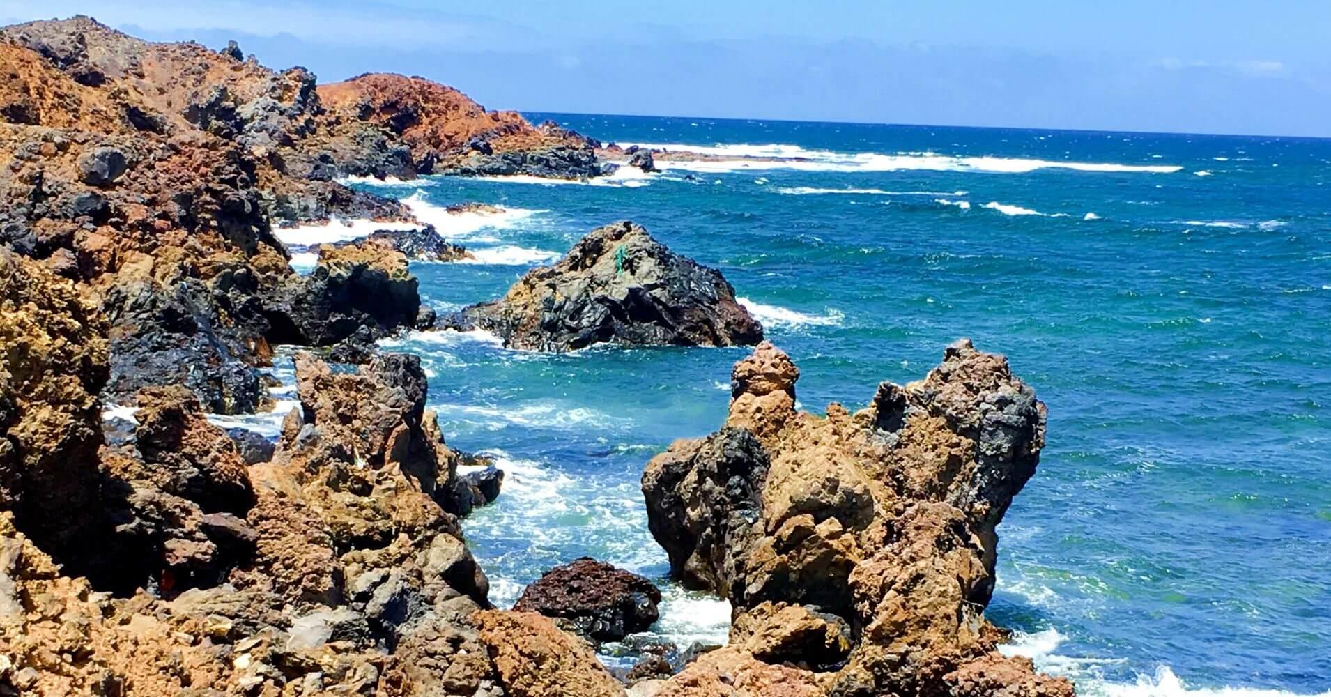 Parque Natural de la Isla de Los Lobos. Canarias.