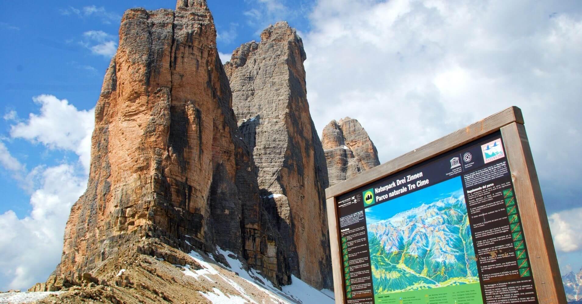Parque Natural Tres Cimas de Lavaredo. Belluno, Véneto. Italia.