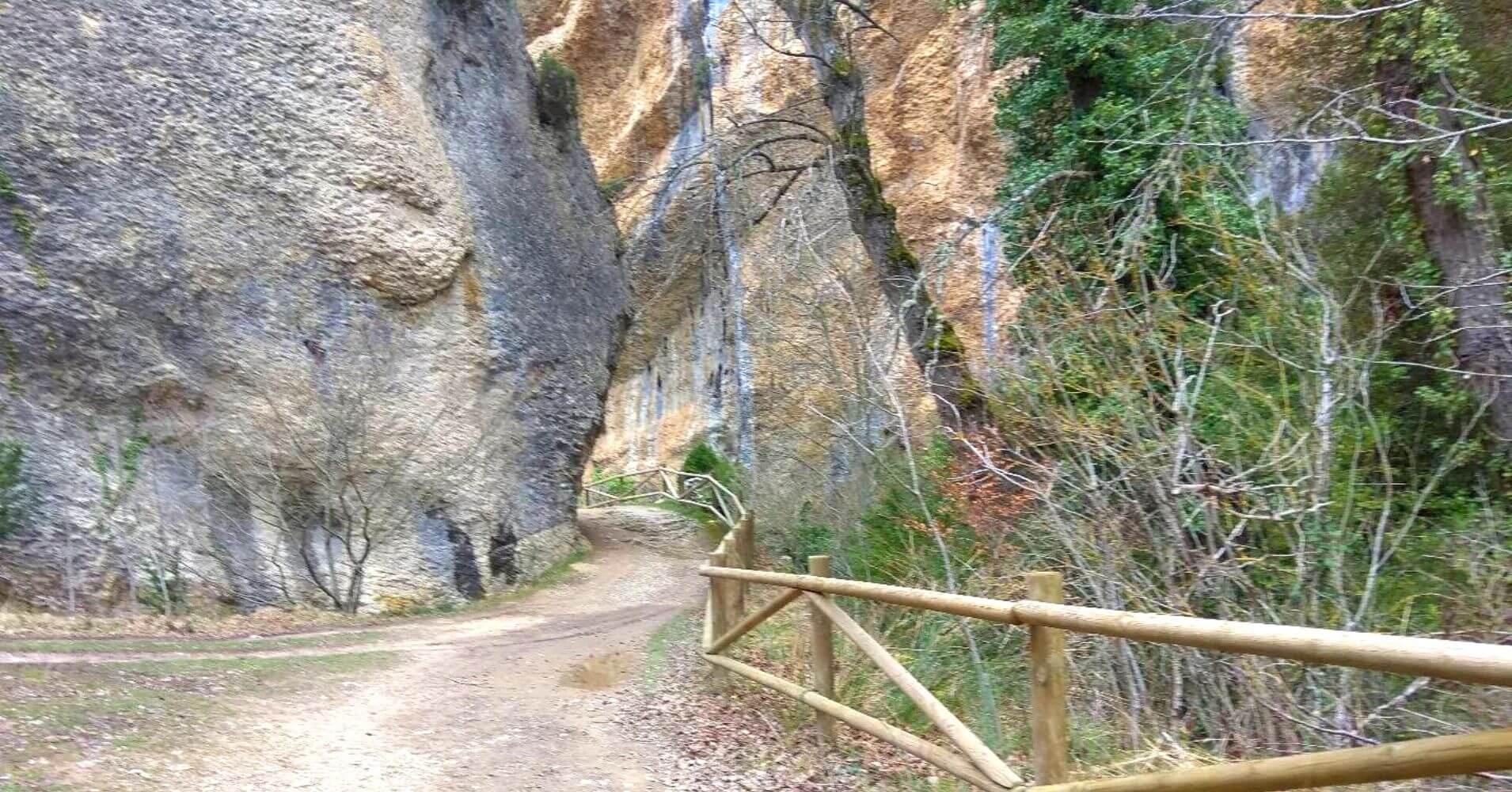 Parque Natural Valderejo. Álava, País Vasco. Euskadi.