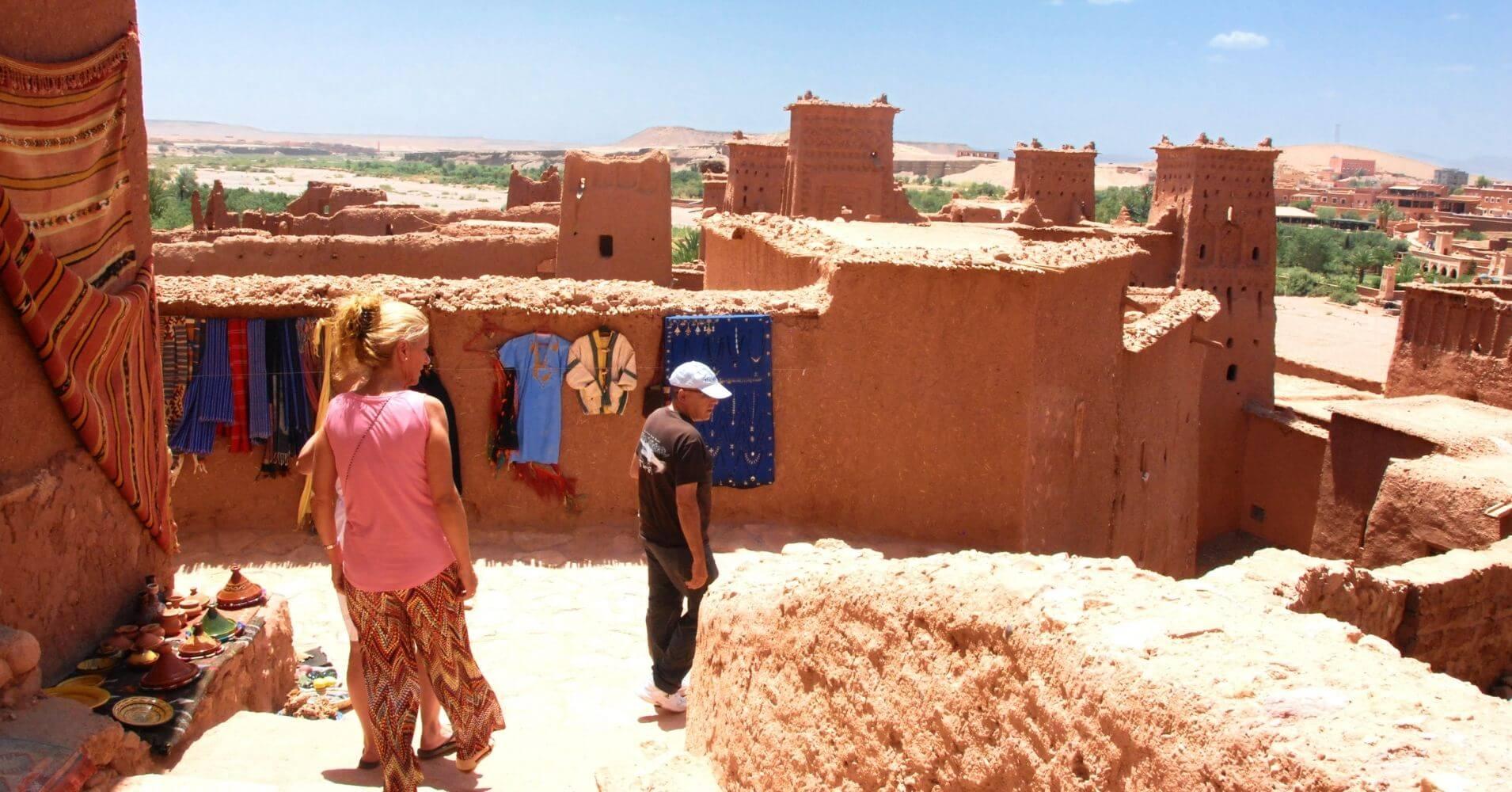 Paseando por Aït Ben Haddou, Marruecos.