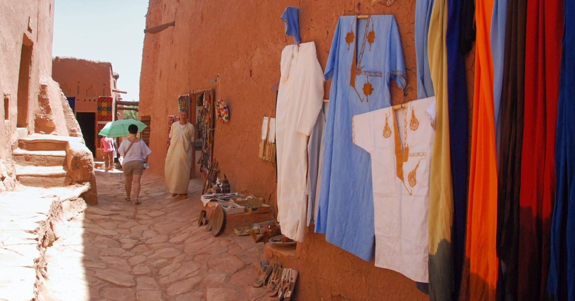 Paseo por la Kasbah, Marruecos.
