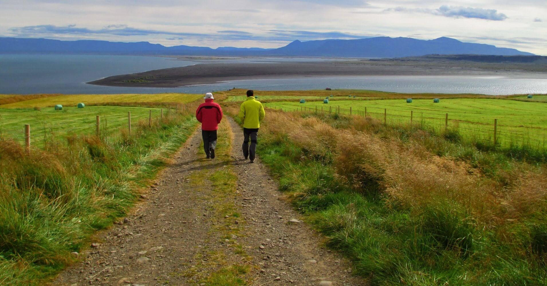 Paseo por Hvammstangi. Norðurland Vestra. Islandia.
