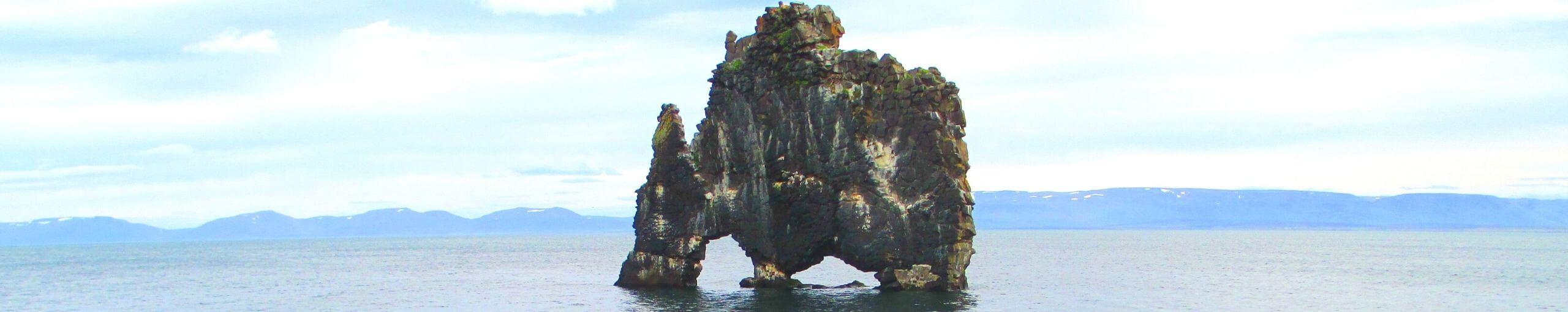 Península de Vatnsnes. Hvammstangi. Norðurland Vestra. Islandia.