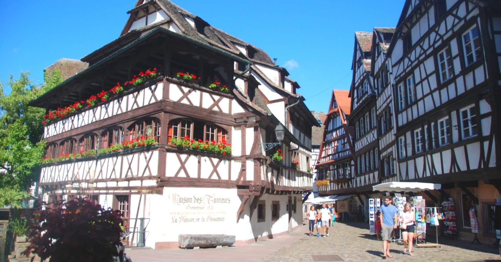 Estrasburgo. Petite France, Bajo Rin. Alsacia. Gran Este. Francia.