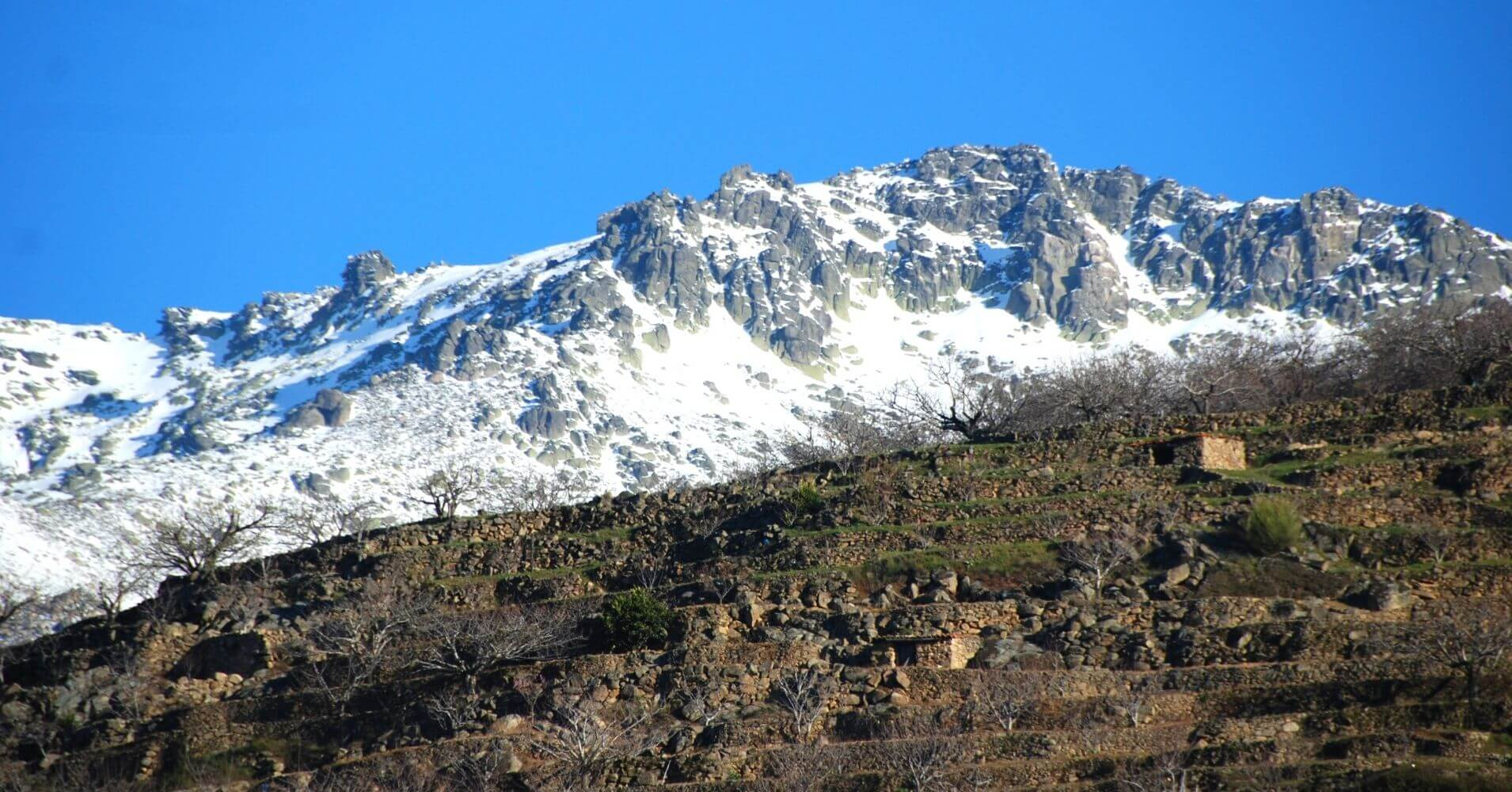 Pico de la Covacha, Sierra de Gredos. Madrigal de La Vera. Cáceres. Extremadura.