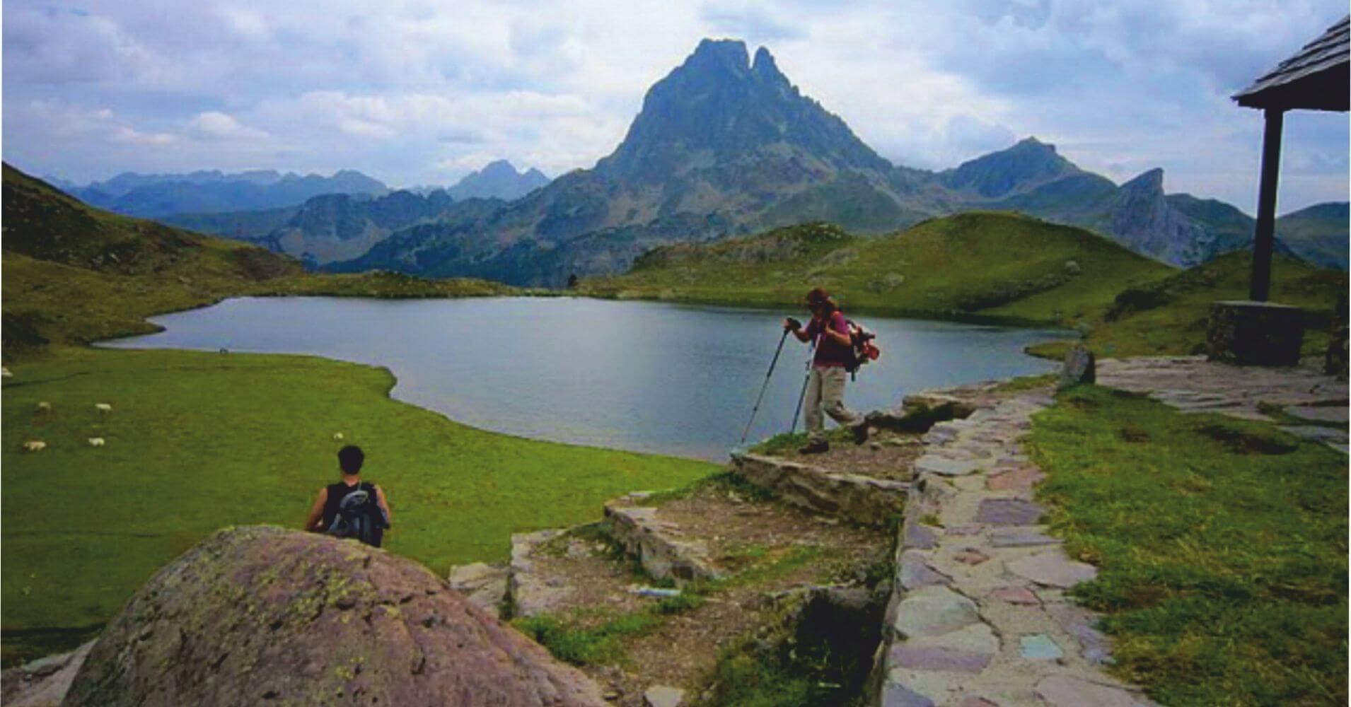 Pico Midi d' Ossau. Refugio de Ayous. Parque Nacional de Pirineos. Nueva Aquitania. Francia.