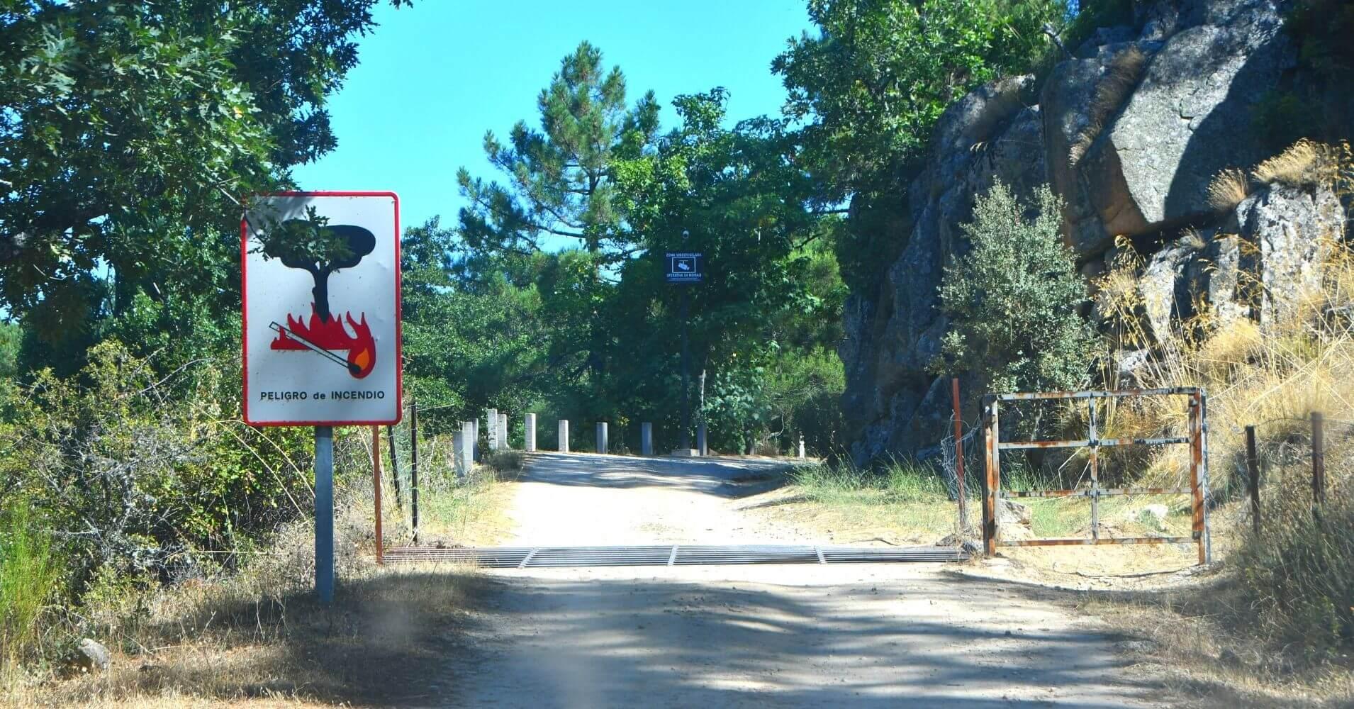 Pistas Forestales de la Ruta 4x4 Rumbo a Gredos. San Bartolomé de Pinares. Ávila, Castilla y León.