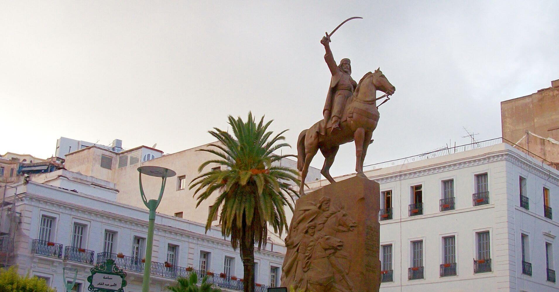 Place Emir Abdelkader. Argel la Blanca. Argelia.