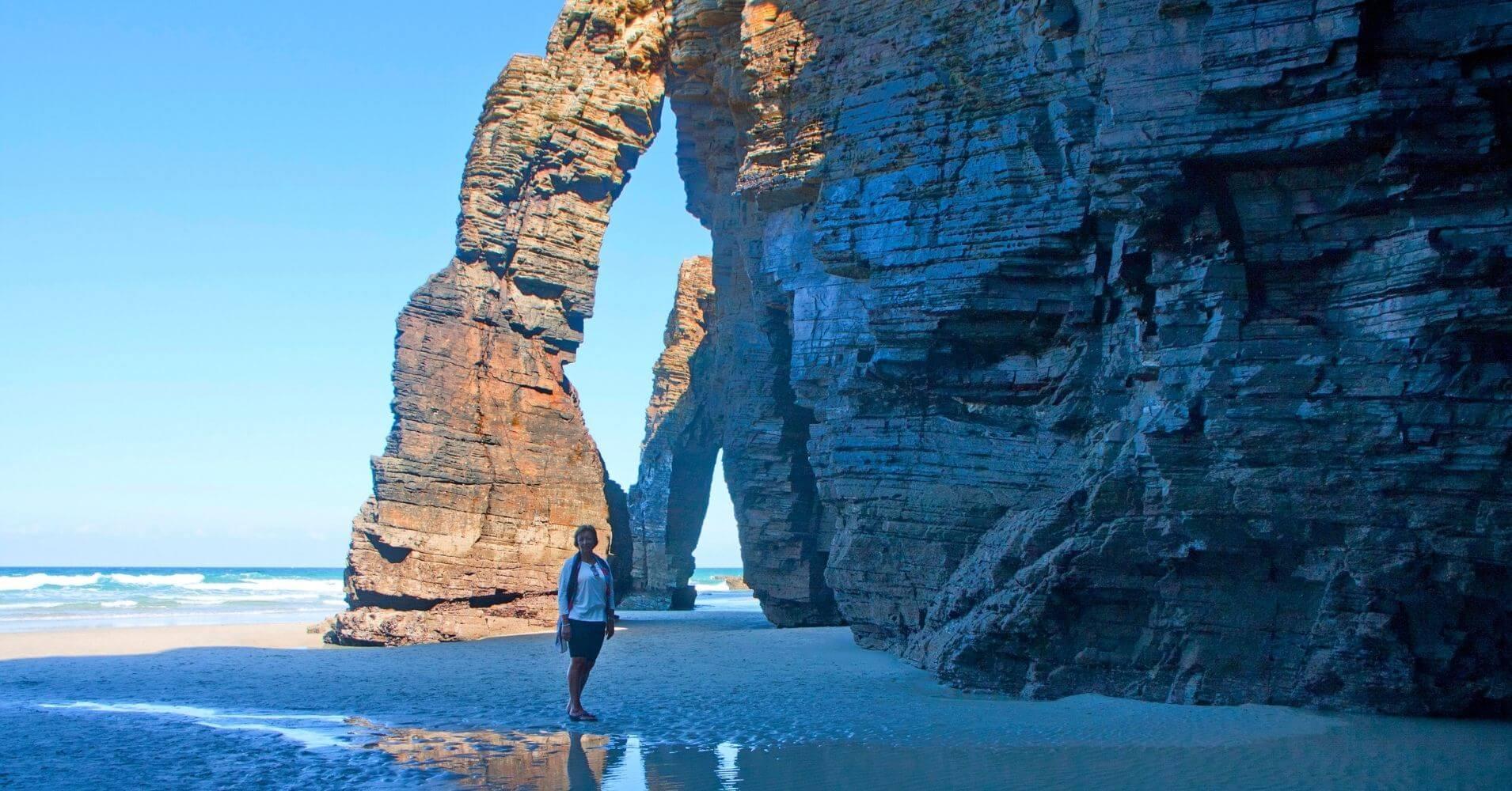 Playa de las Catedrales. Ribadeo. Lugo. Galicia. España.