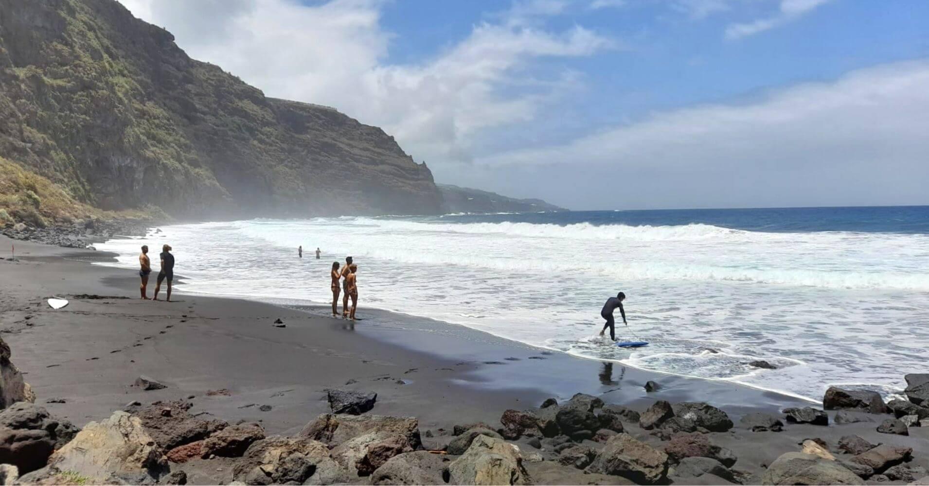Playa de los Nogales. Road Trip Isla de la Palma. Islas Canarias.