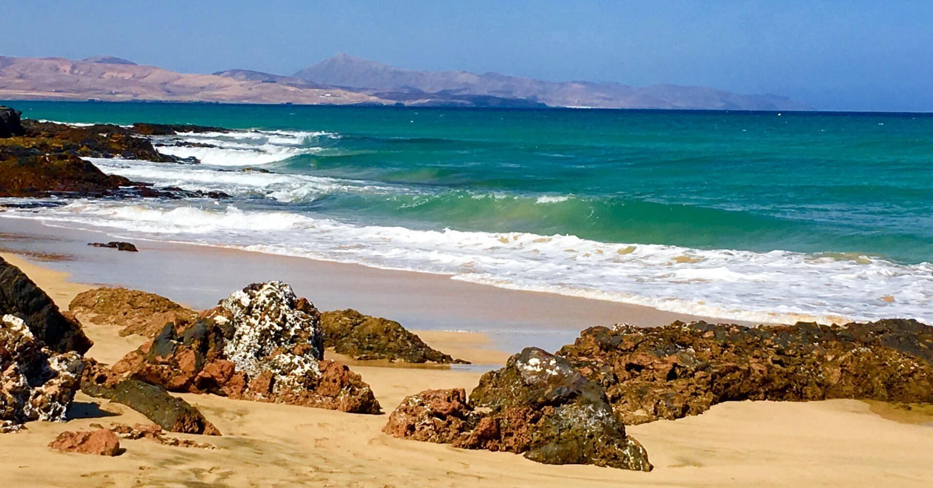 Playa Jandía. Canarias.