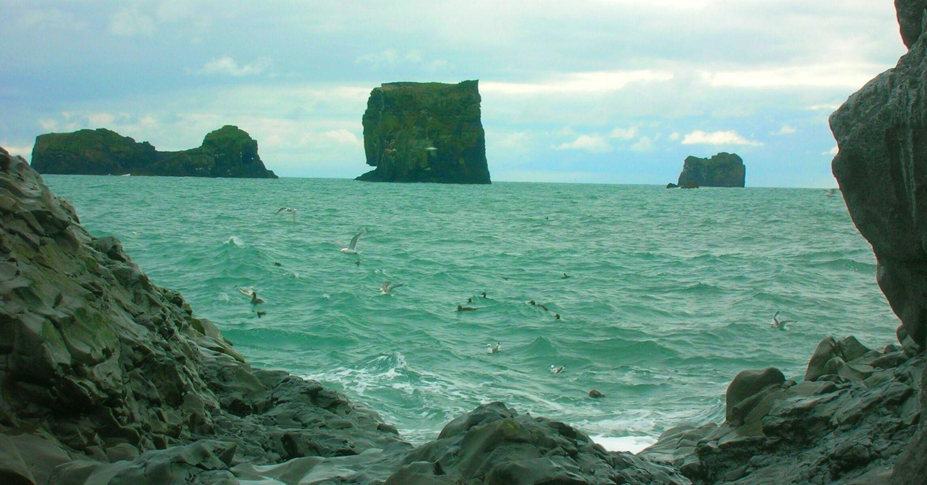 Playa Reynisdrangar. Road Trip Iceland.