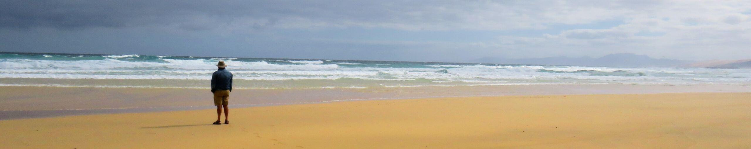 Playas de la Isla de Fuerteventura, Islas Canarias.