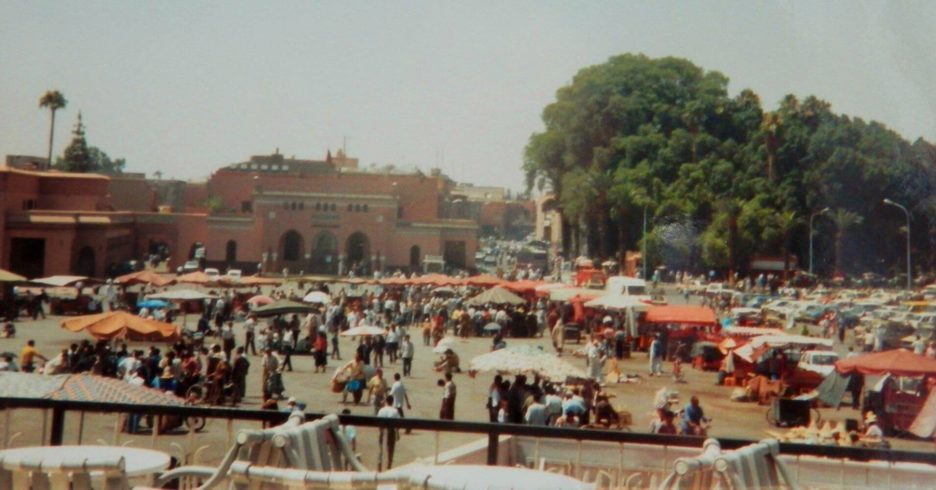 La Plaza de Marrakech. Marruecos.