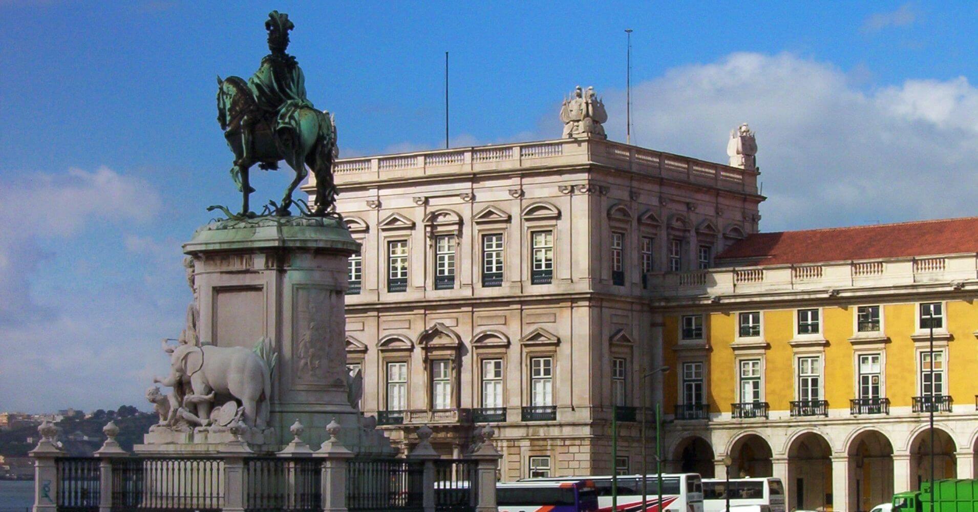 Plaza del Comercio. Lisboa, Portugal.