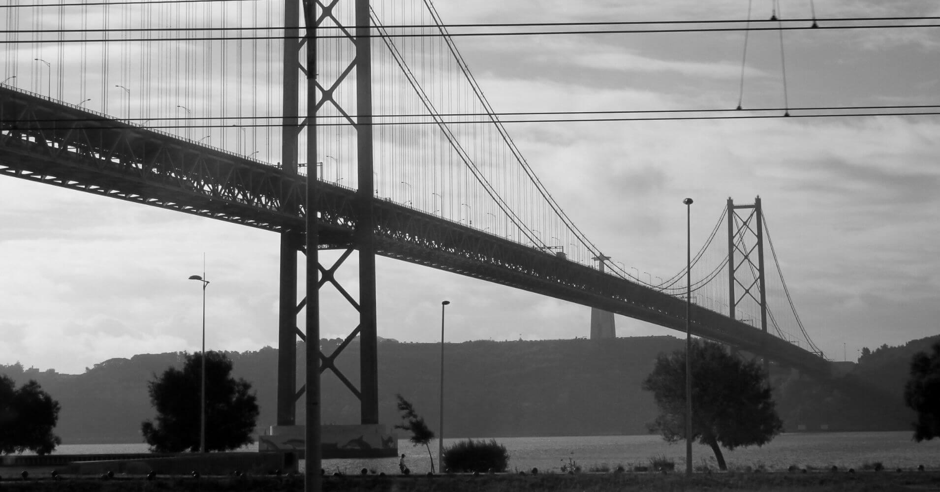 Ponte 25 Abril. Lisboa, Portugal.