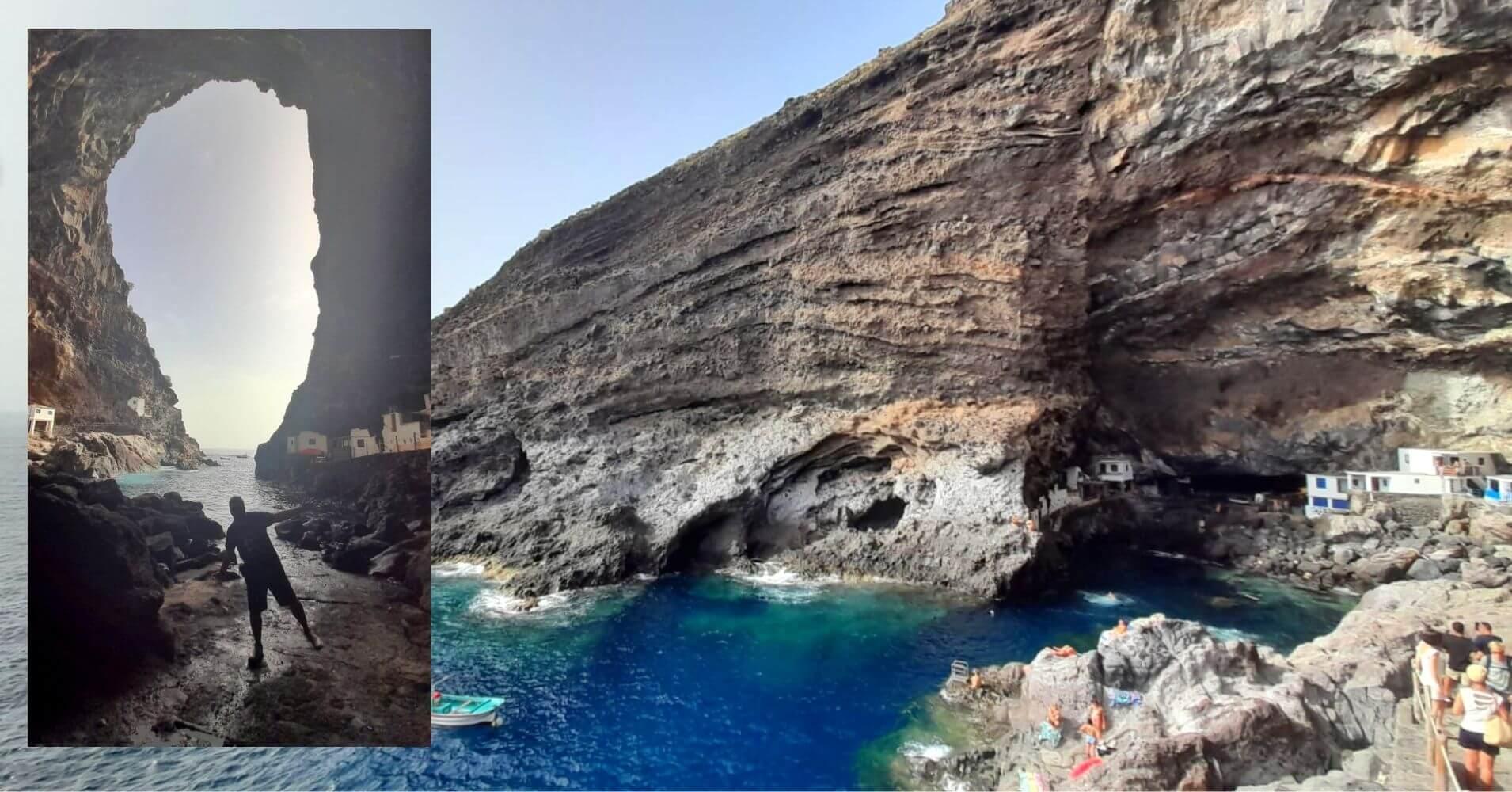 Porís de Candelaria. Tijarafe, Isla de La Palma. Islas Canarias.