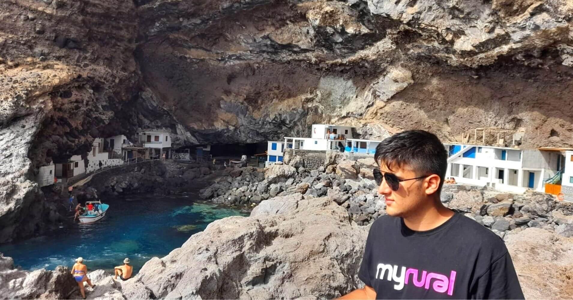 Porís de Candelaria. Tijarafe, La Palma. Islas Canarias.