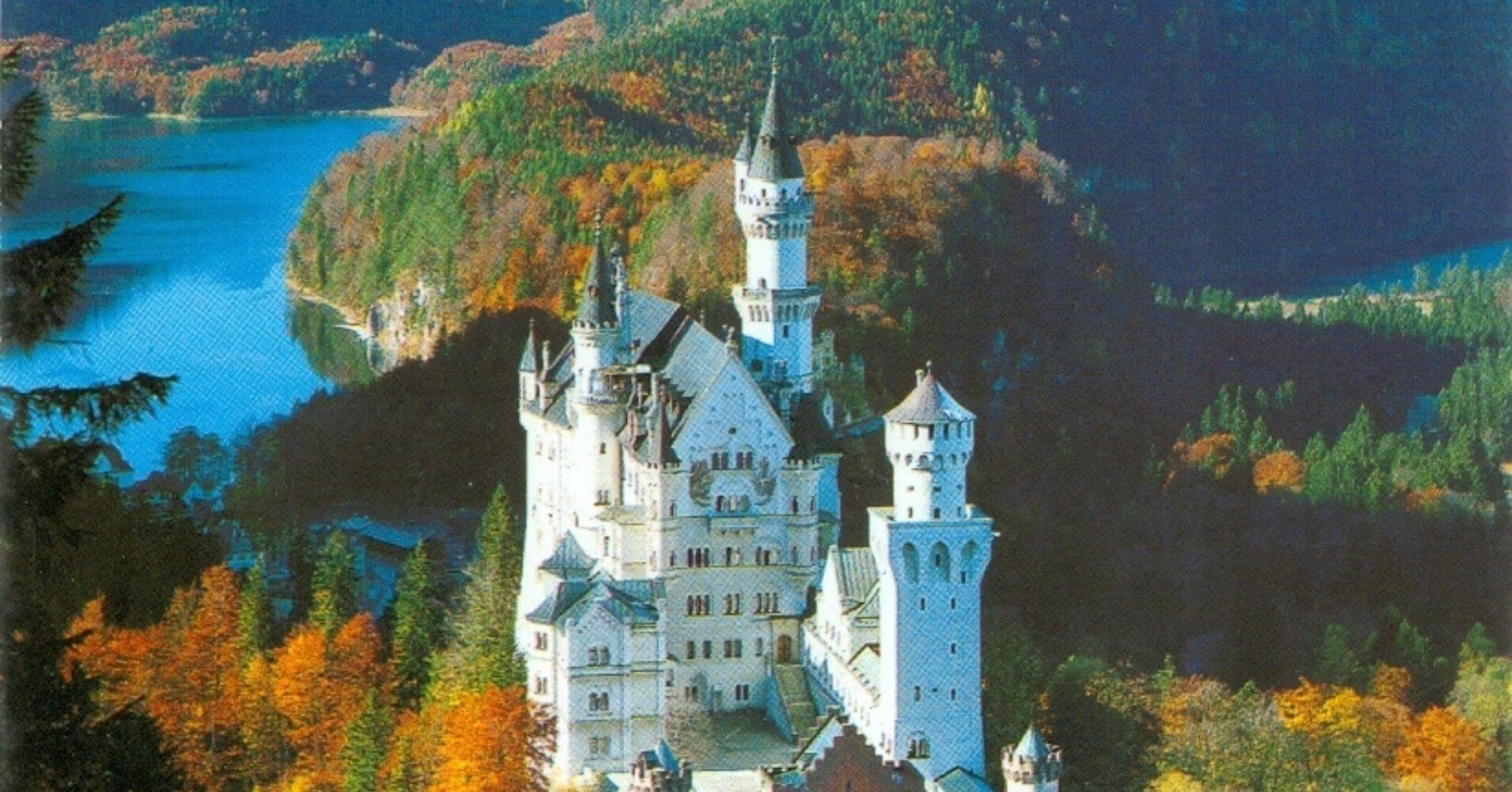 Postal Clásica. Baviera. Alemania.
