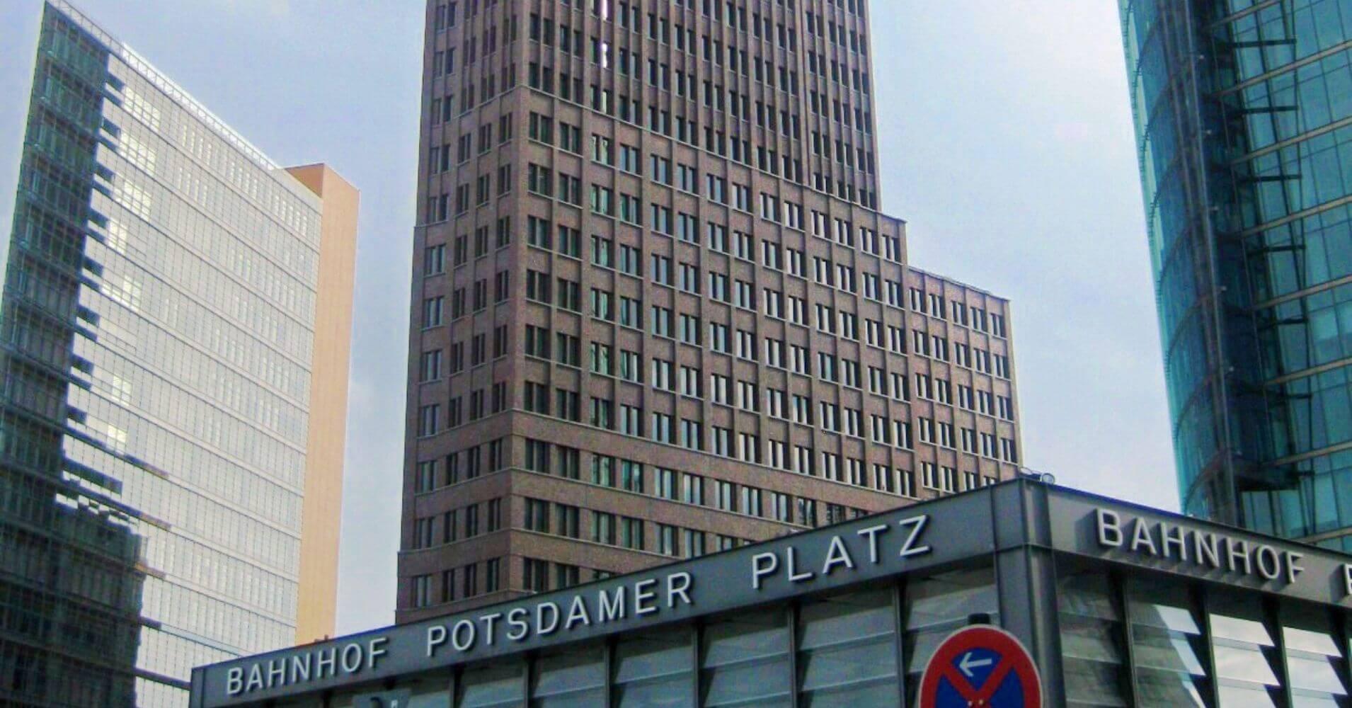 Potsdamer Platz. Viaje a Berlín. Alemania.