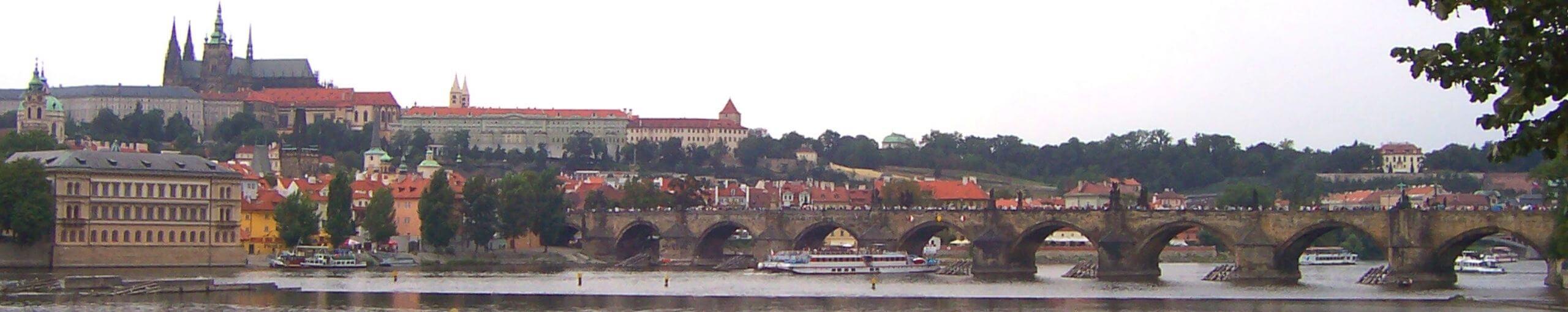 Praga Capital de Bohemia. República Checa.