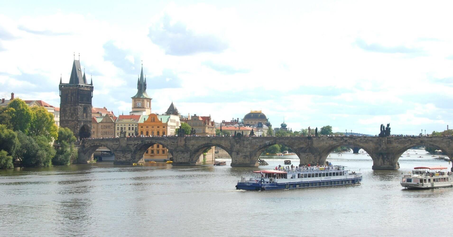 Puente de Carlos, Praga. República Checa.