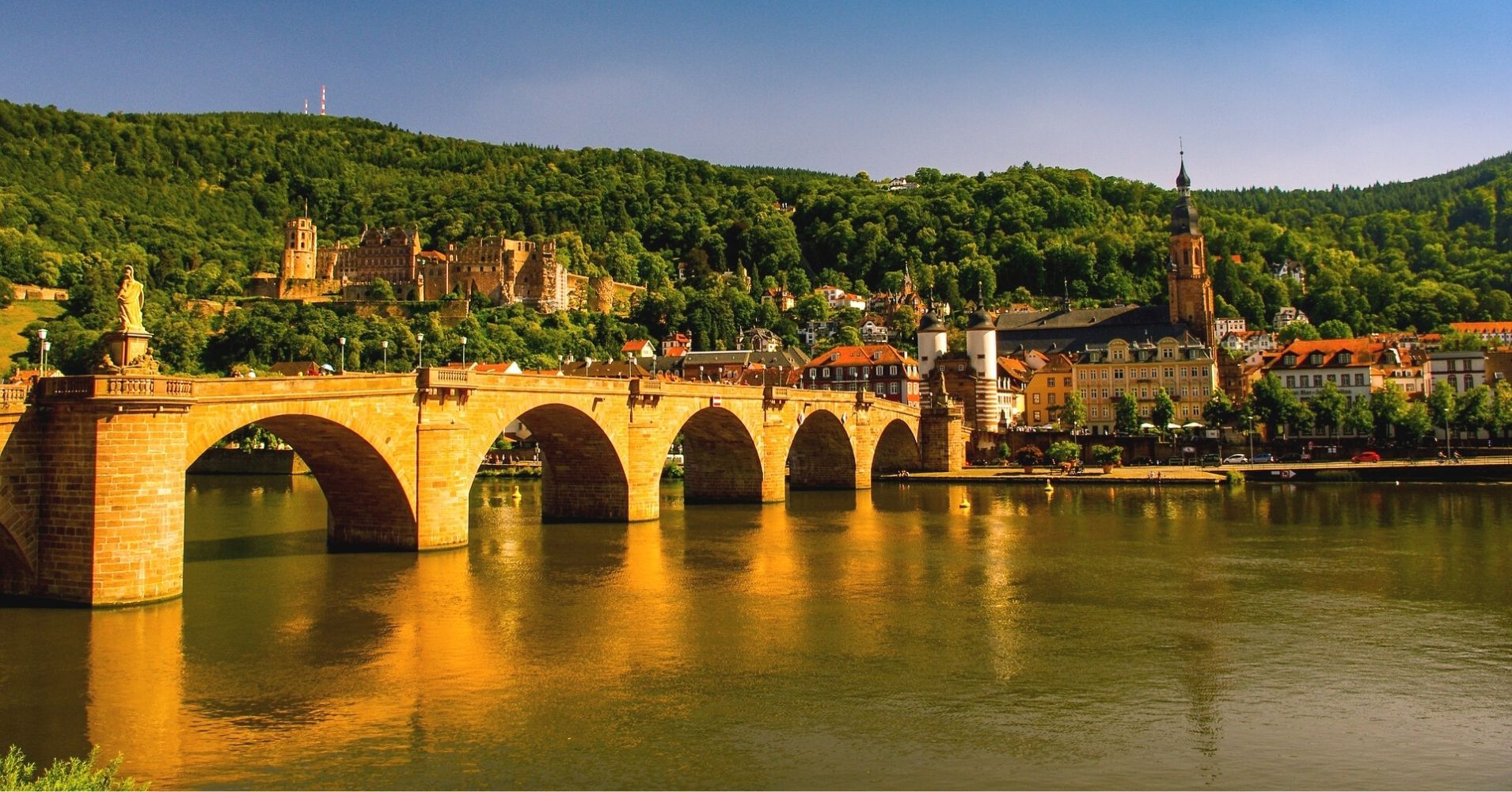 Puente en la Ciudad Baden-Wutemberg. Alemania.