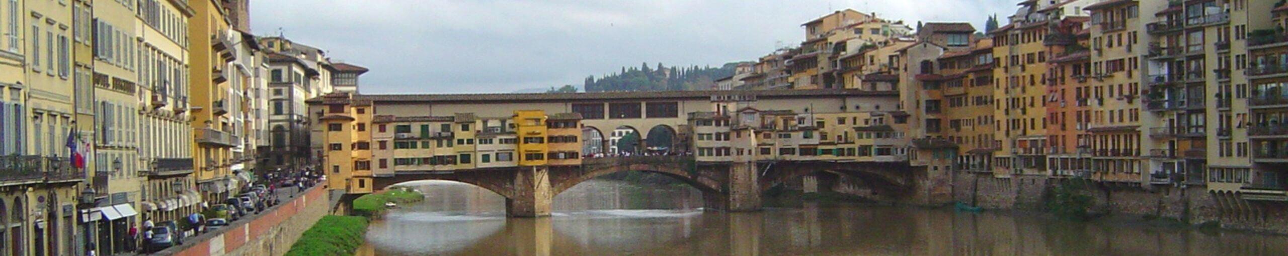 Puente Vecchio, Florencia. Toscana, Italia.