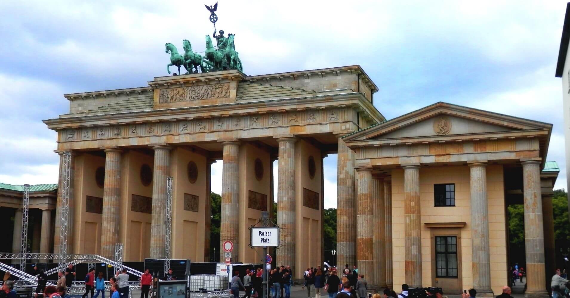 Puerta Branderburgo. Berlín. Alemania.