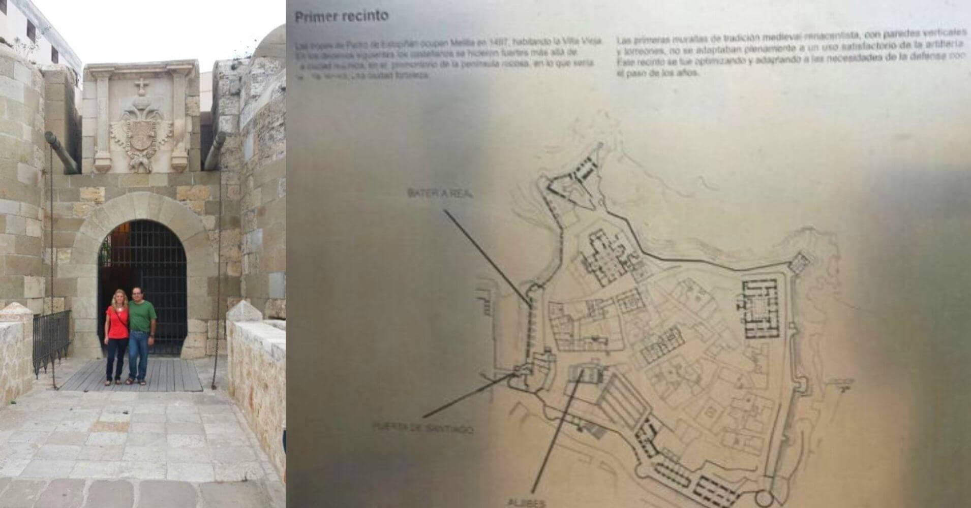 Puerta de Santiago. Melilla.