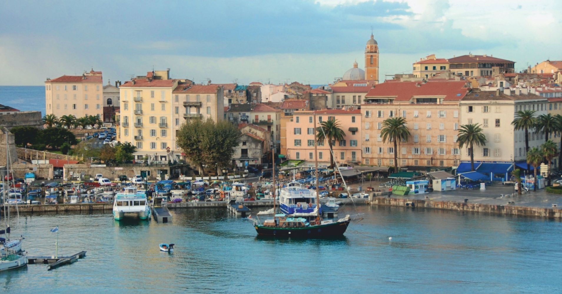 Puerto de Ajaccio. Córcega del Sur. Departamento de Córcega del Sur. France.