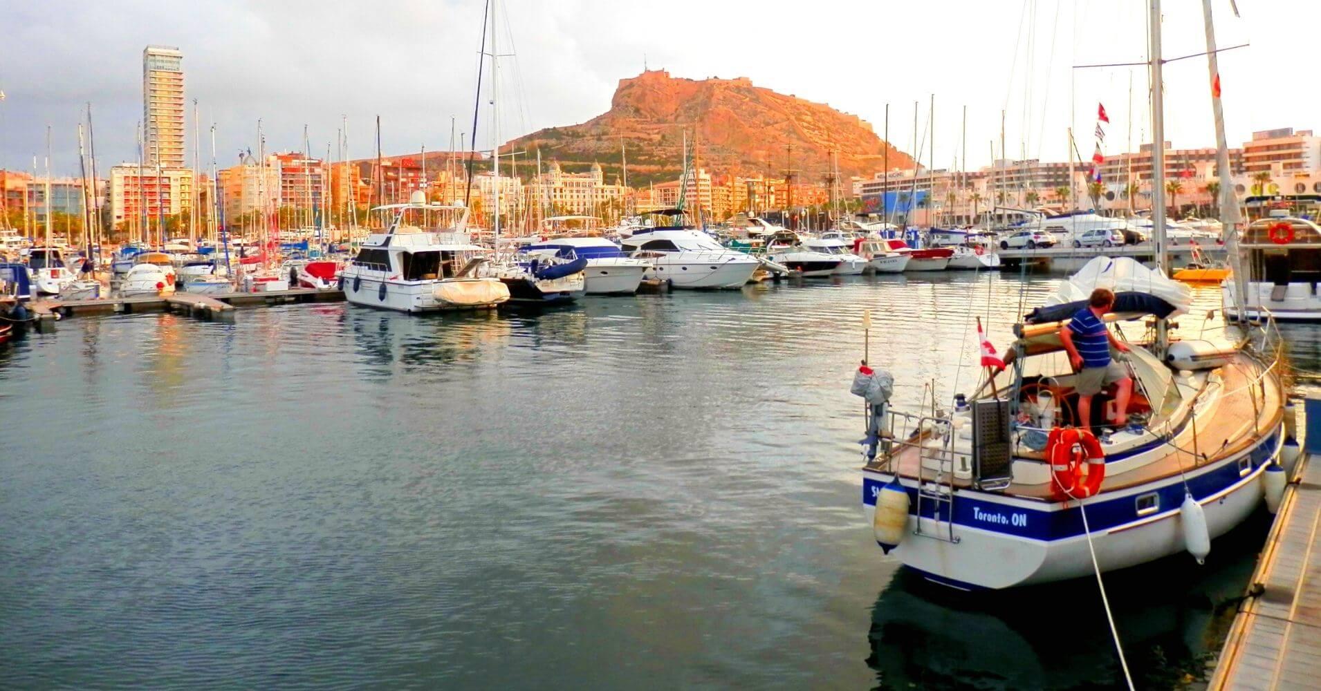 Puerto de Alicante. Comunidad Valenciana.