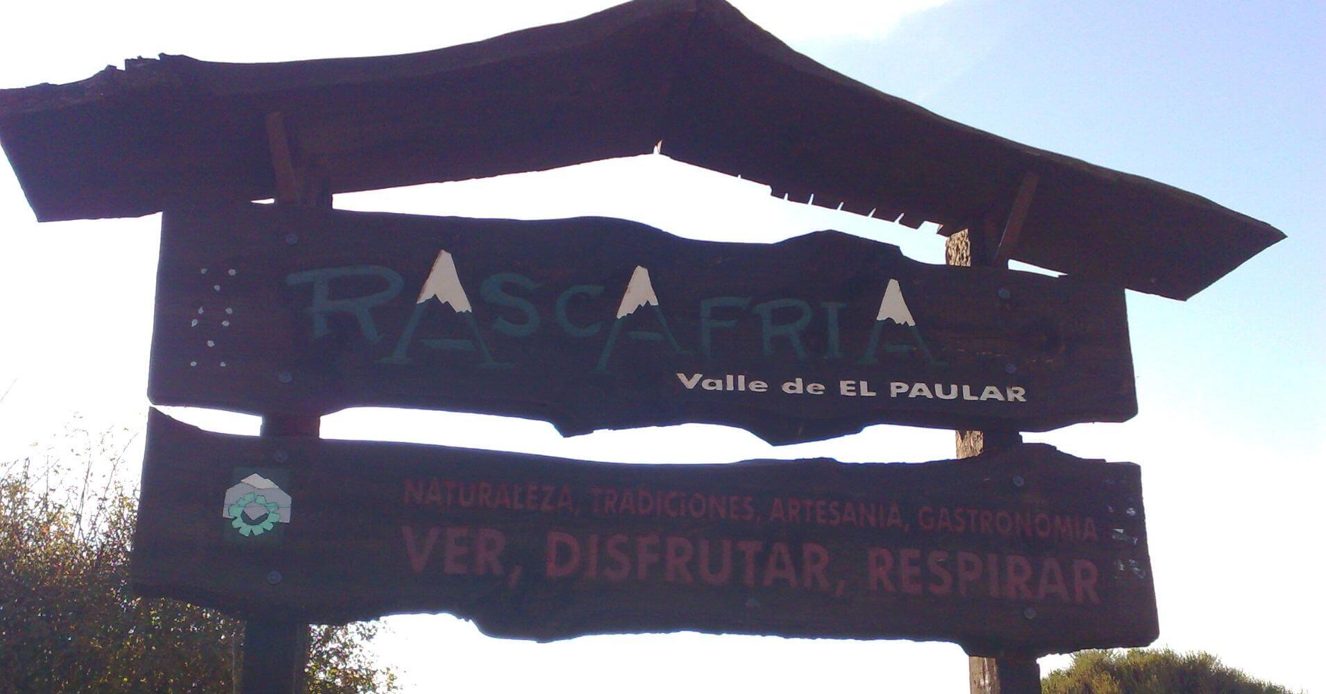 Puerto de la Morcuera. Rascafría, Valle de El Paular. Comunidad de Madrid.