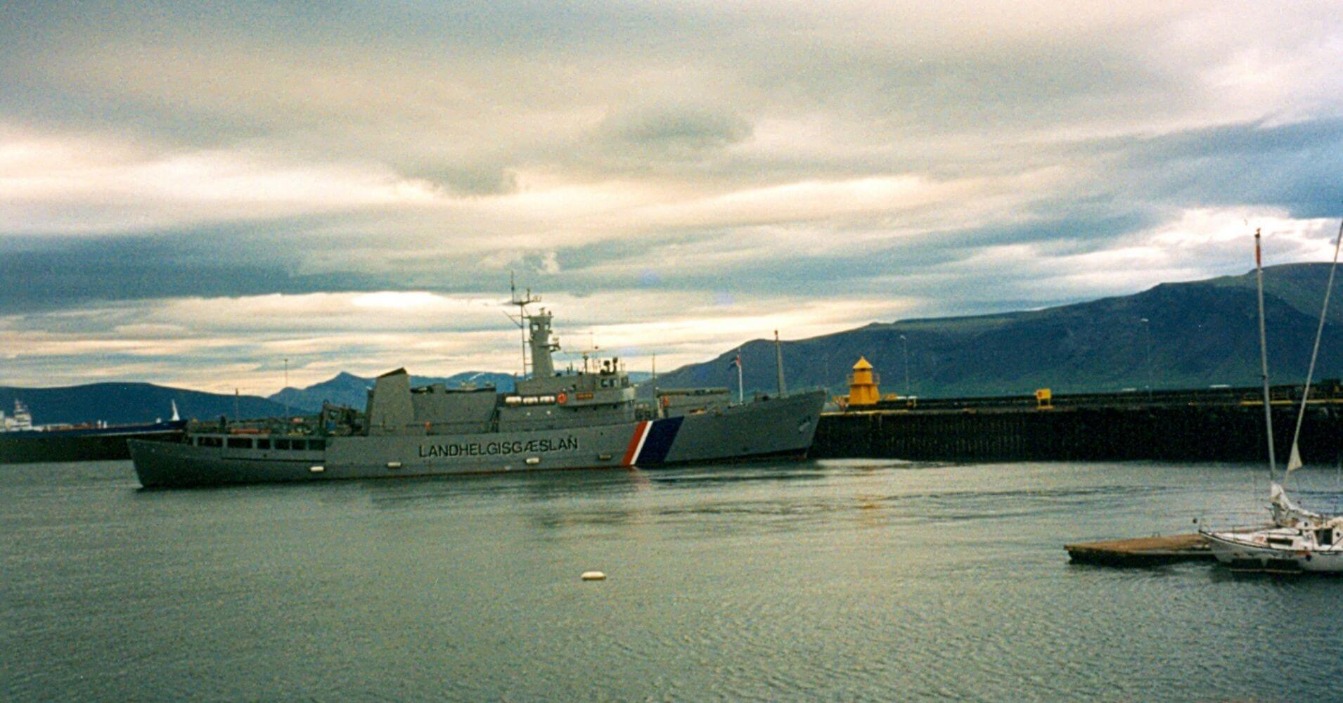 Puerto de Reyjavík. Islandia.