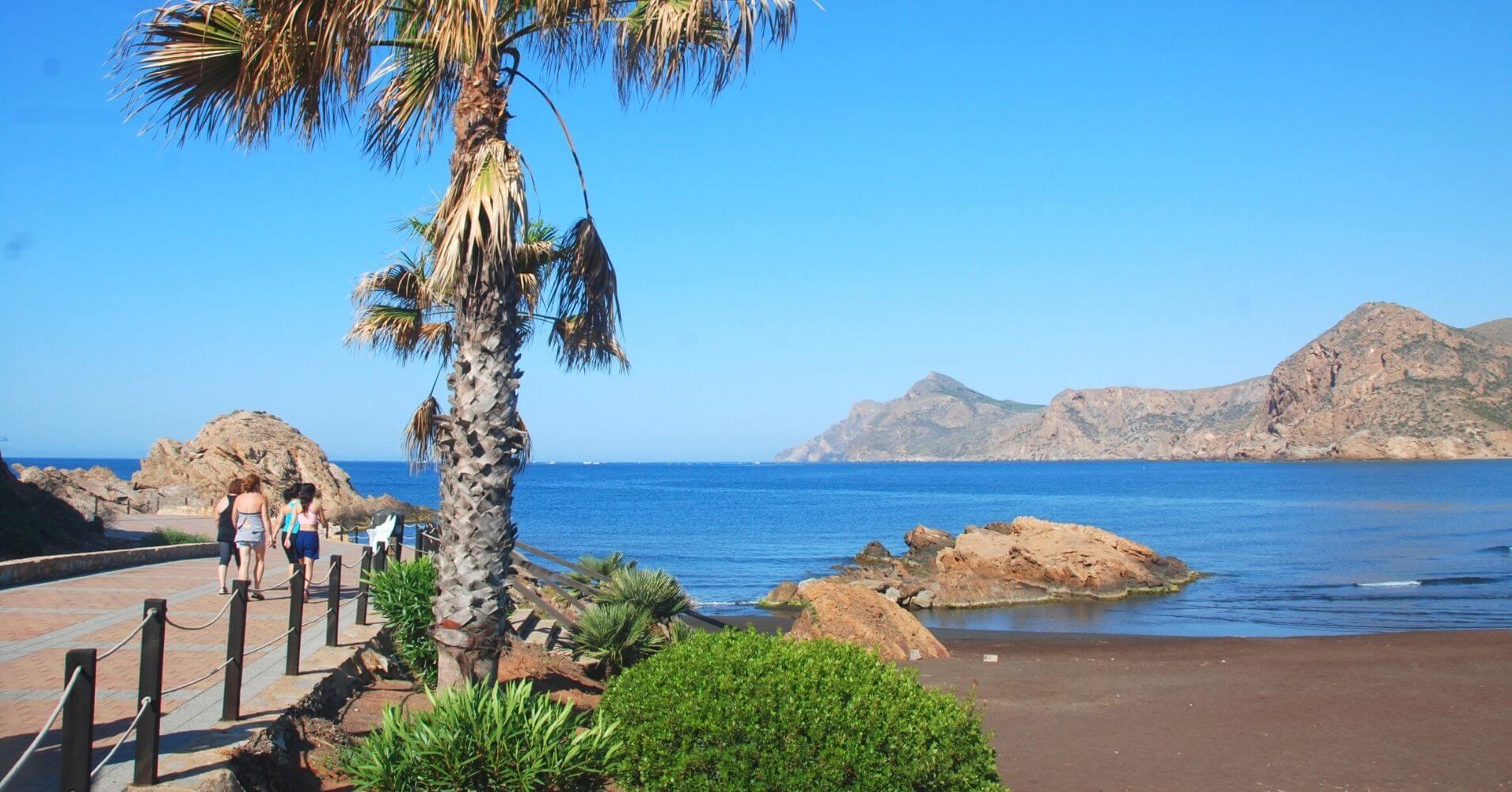 Puerto y Playa de Portman.