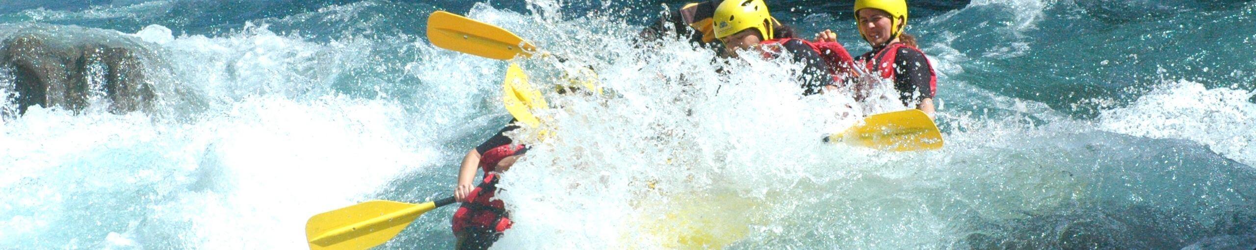 Rafting del Río Ara. Torla, Huesca.