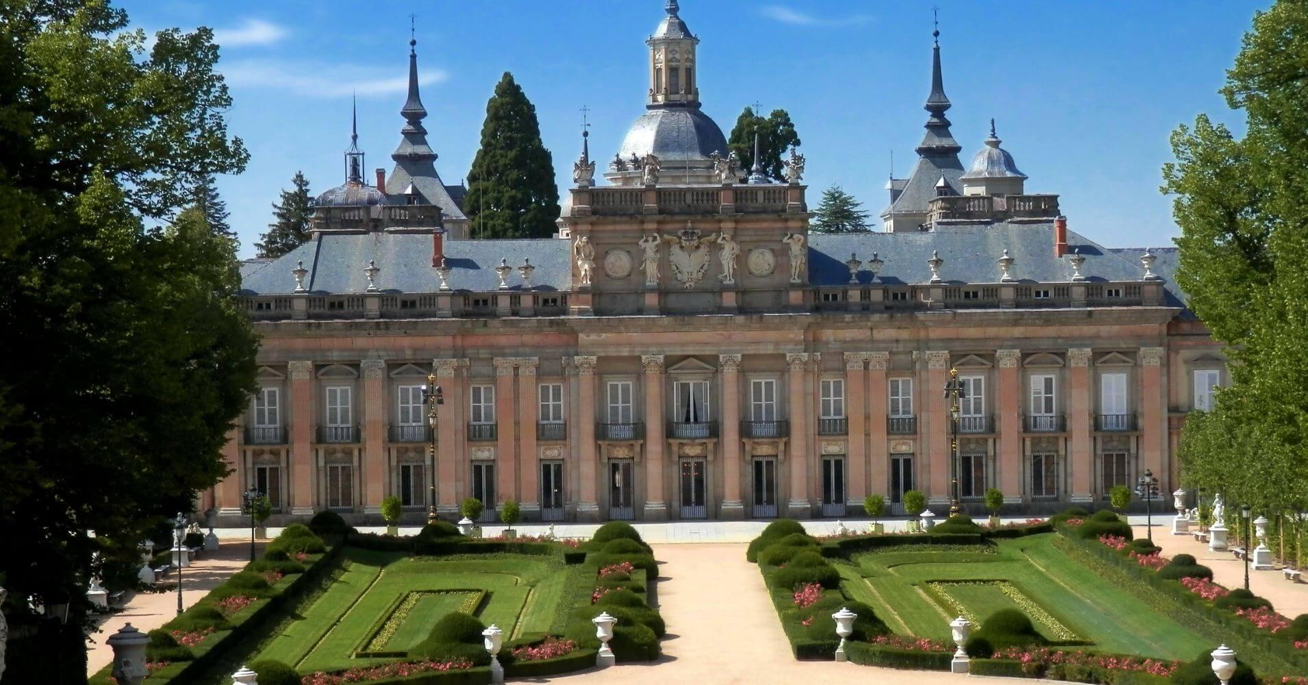 Real Sitio de San Ildefonso. Segovia. Castilla y León.