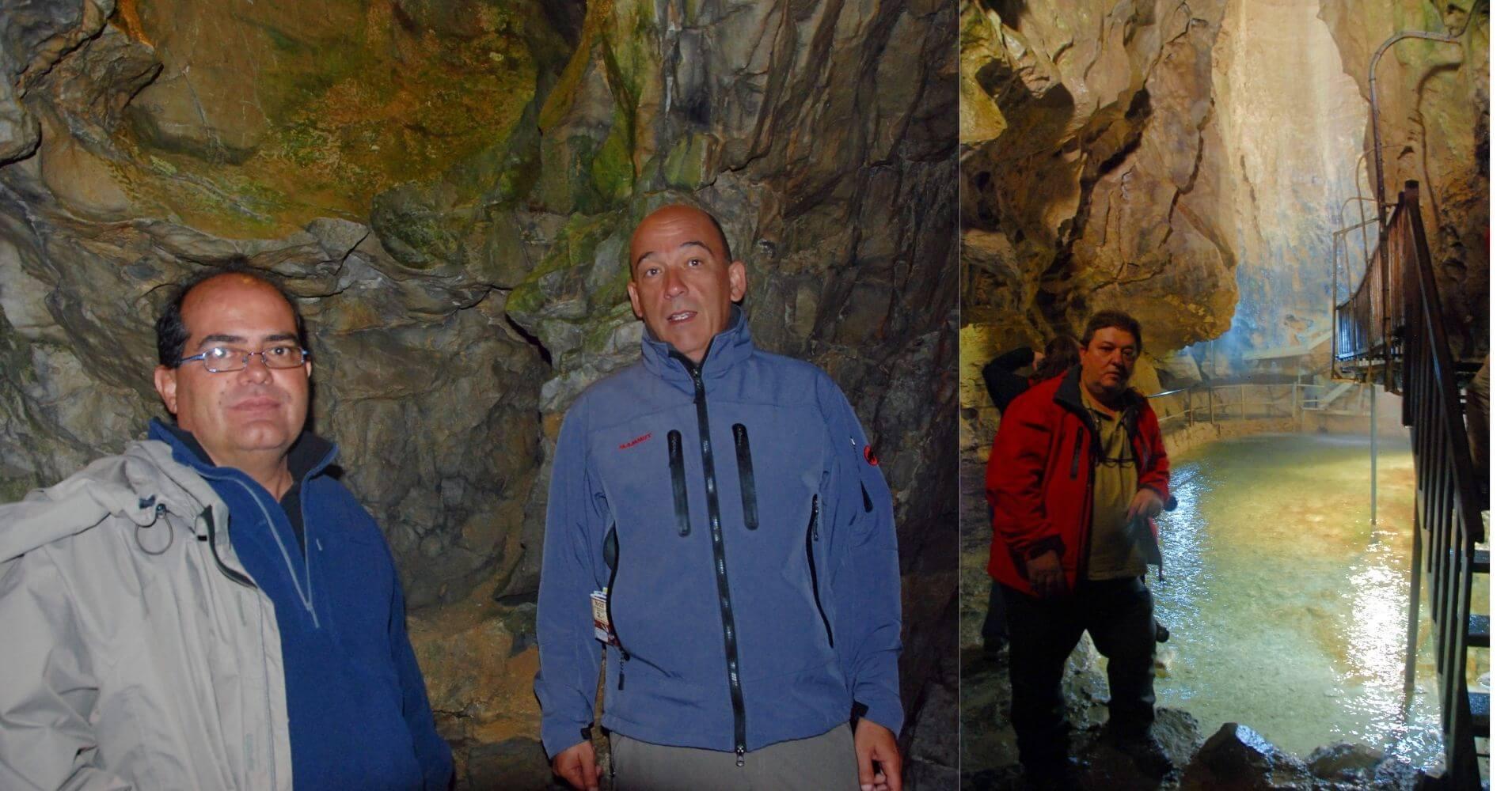 Recorrido por la Cueva de las Hadas. Grotte Aux Fées. St. Maurice. Valais, Suiza.